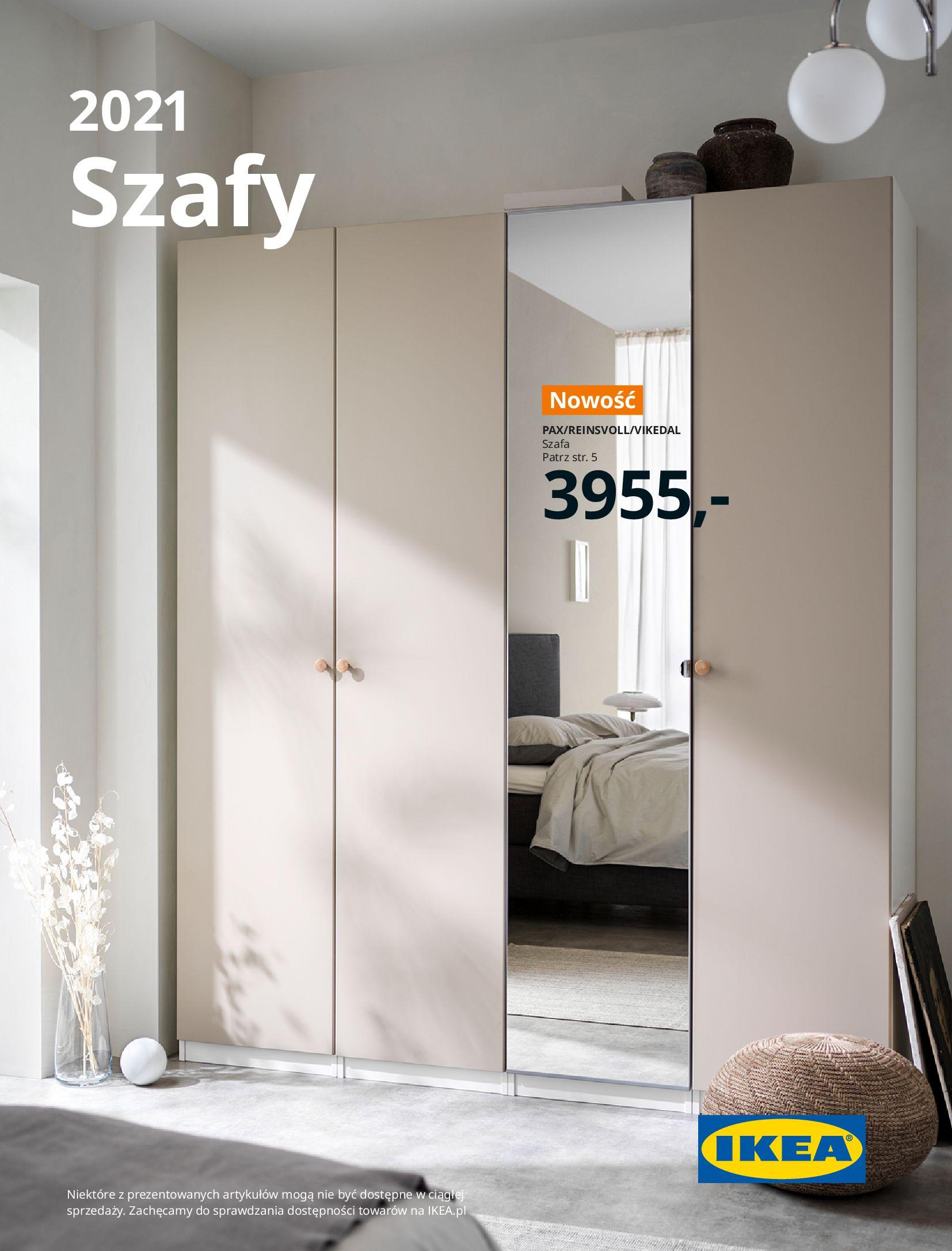 IKEA:  SZAFY 2021 12.01.2021
