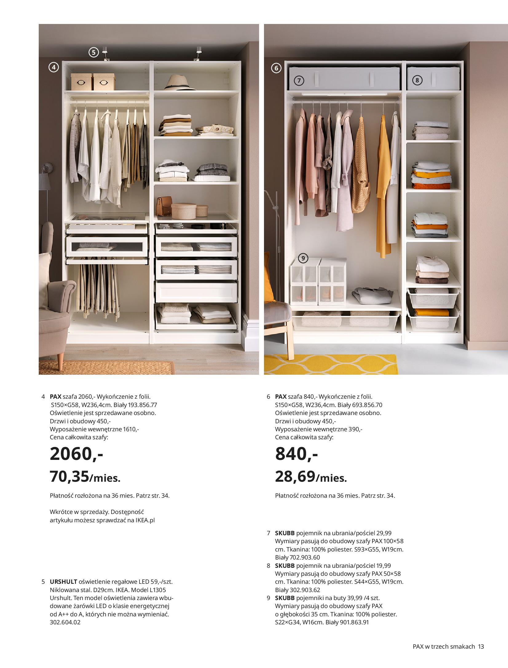 Gazetka IKEA: SZAFY 2021 2021-01-13 page-13