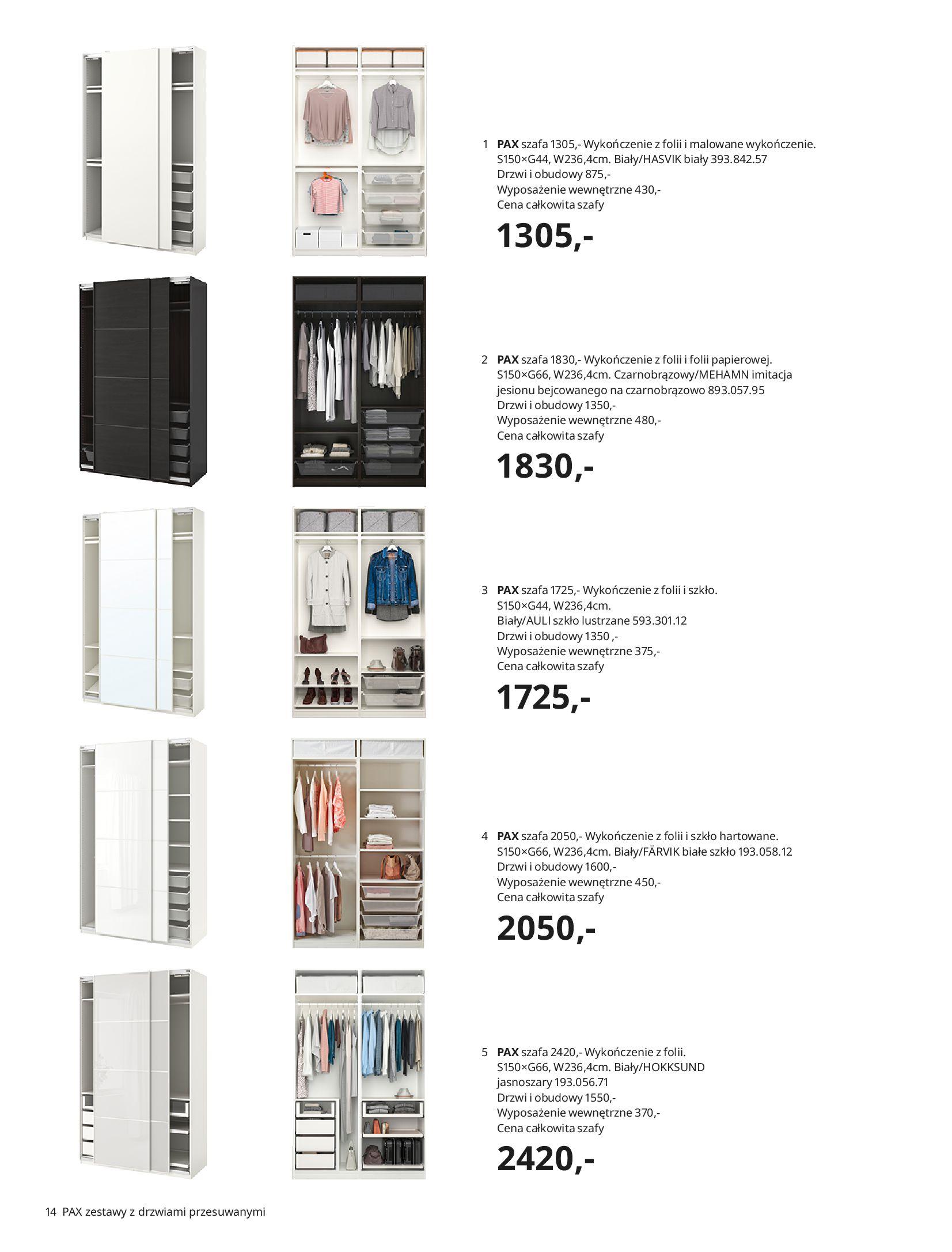 Gazetka IKEA: SZAFY 2021 2021-01-13 page-14