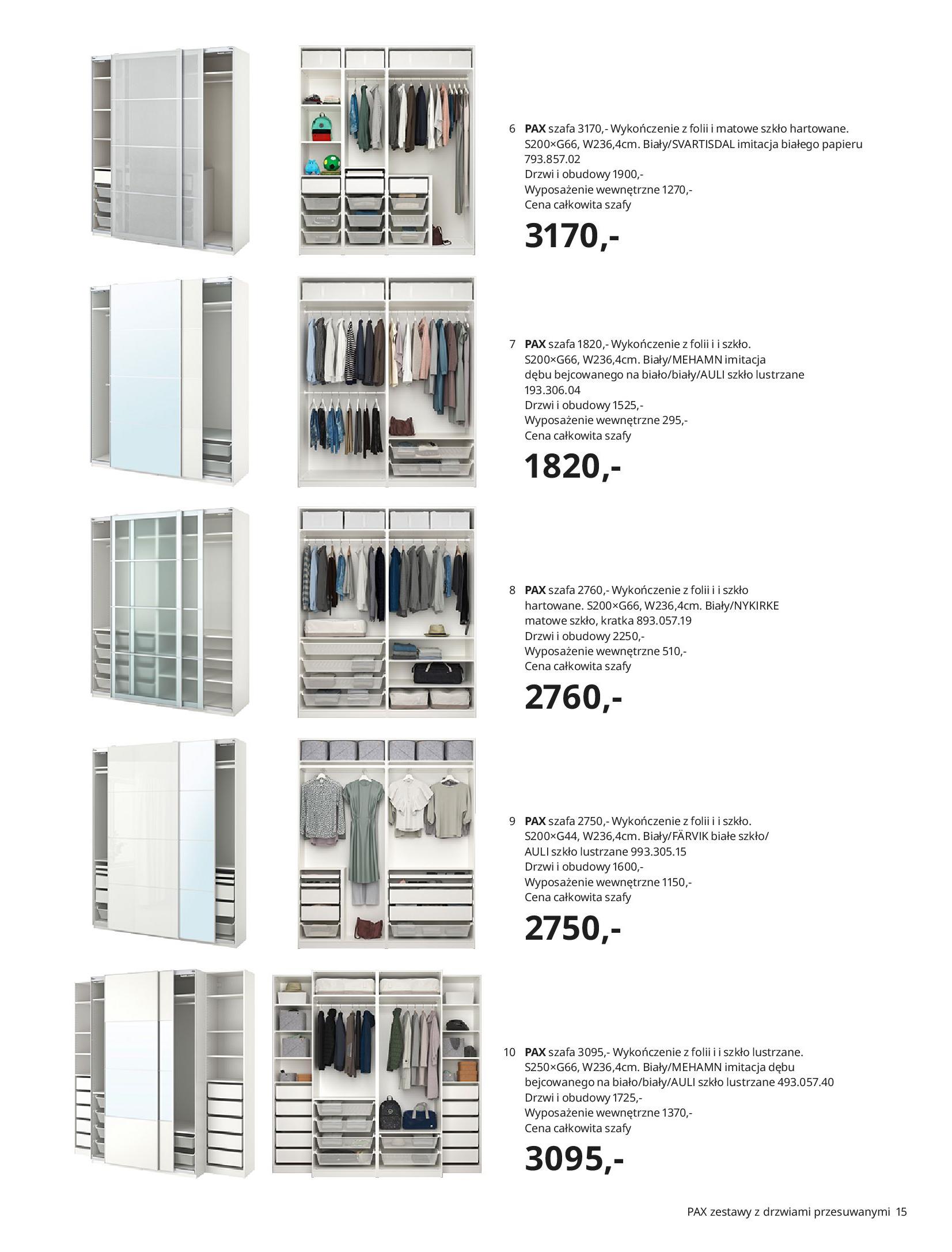 Gazetka IKEA: SZAFY 2021 2021-01-13 page-15