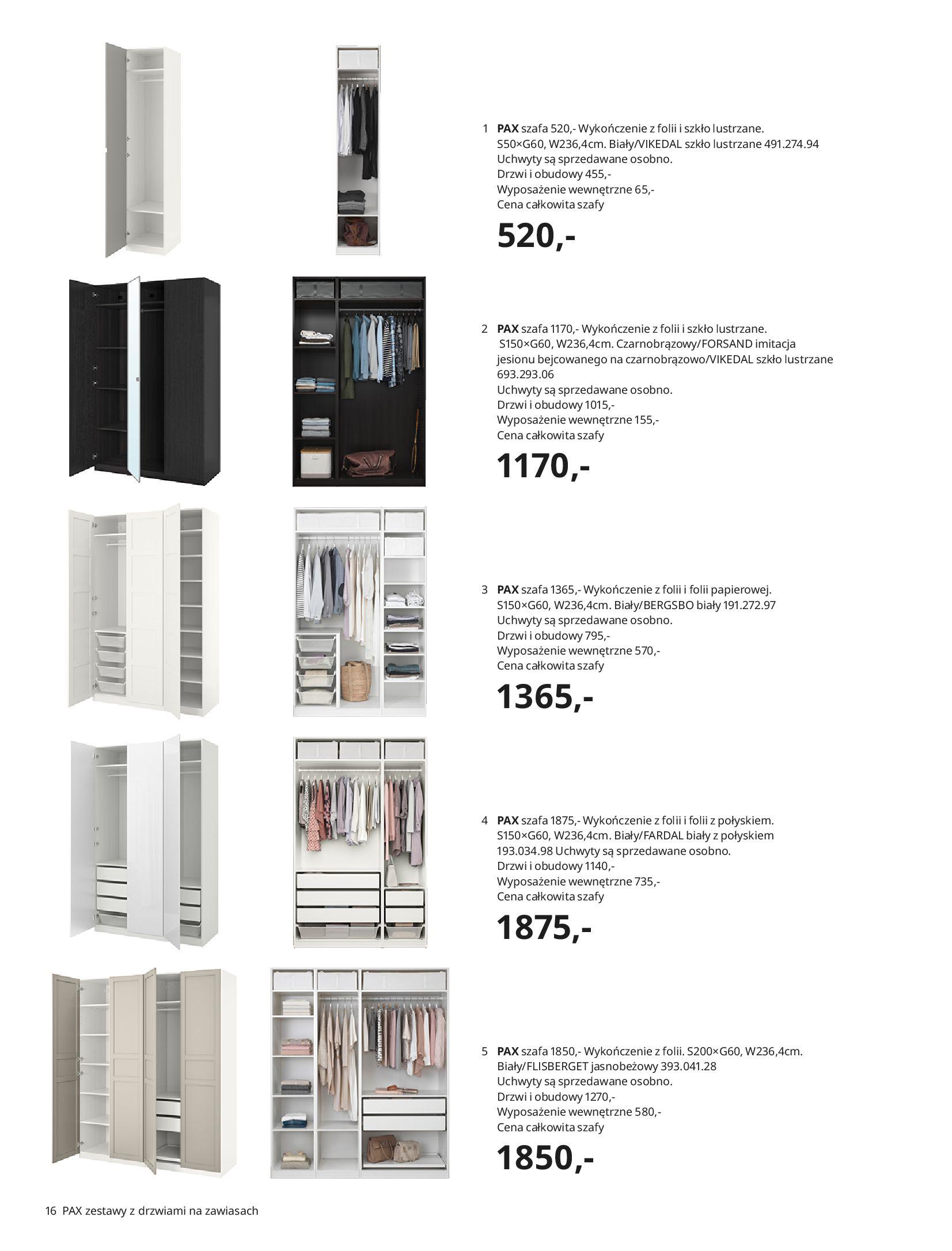 Gazetka IKEA: SZAFY 2021 2021-01-13 page-16