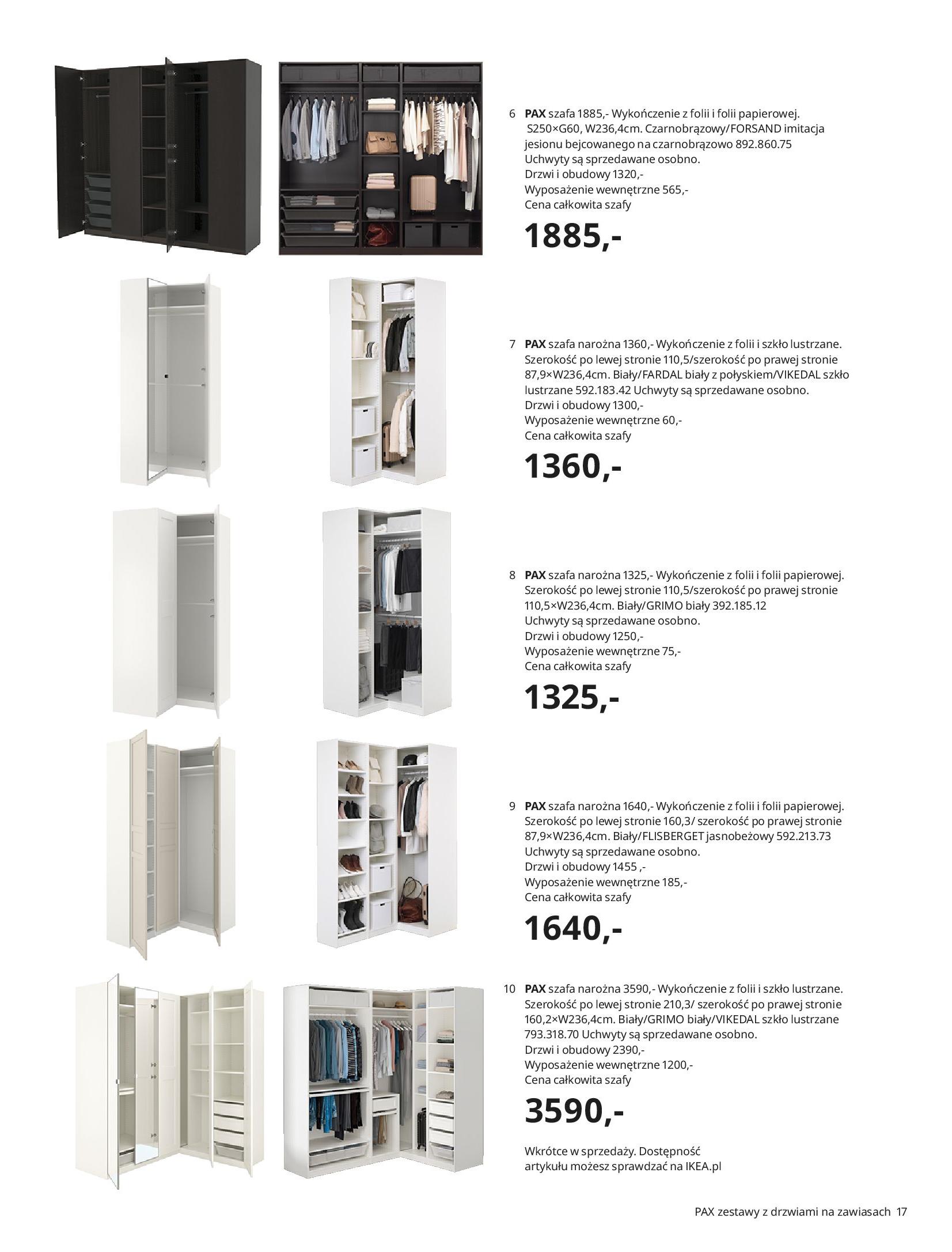 Gazetka IKEA: SZAFY 2021 2021-01-13 page-17