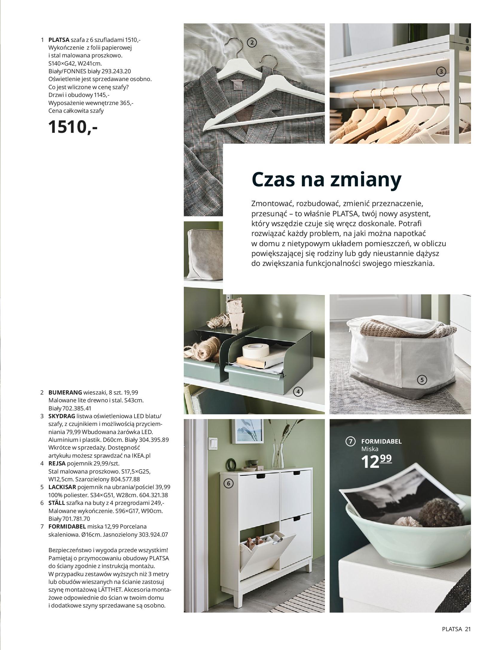 Gazetka IKEA: SZAFY 2021 2021-01-13 page-21