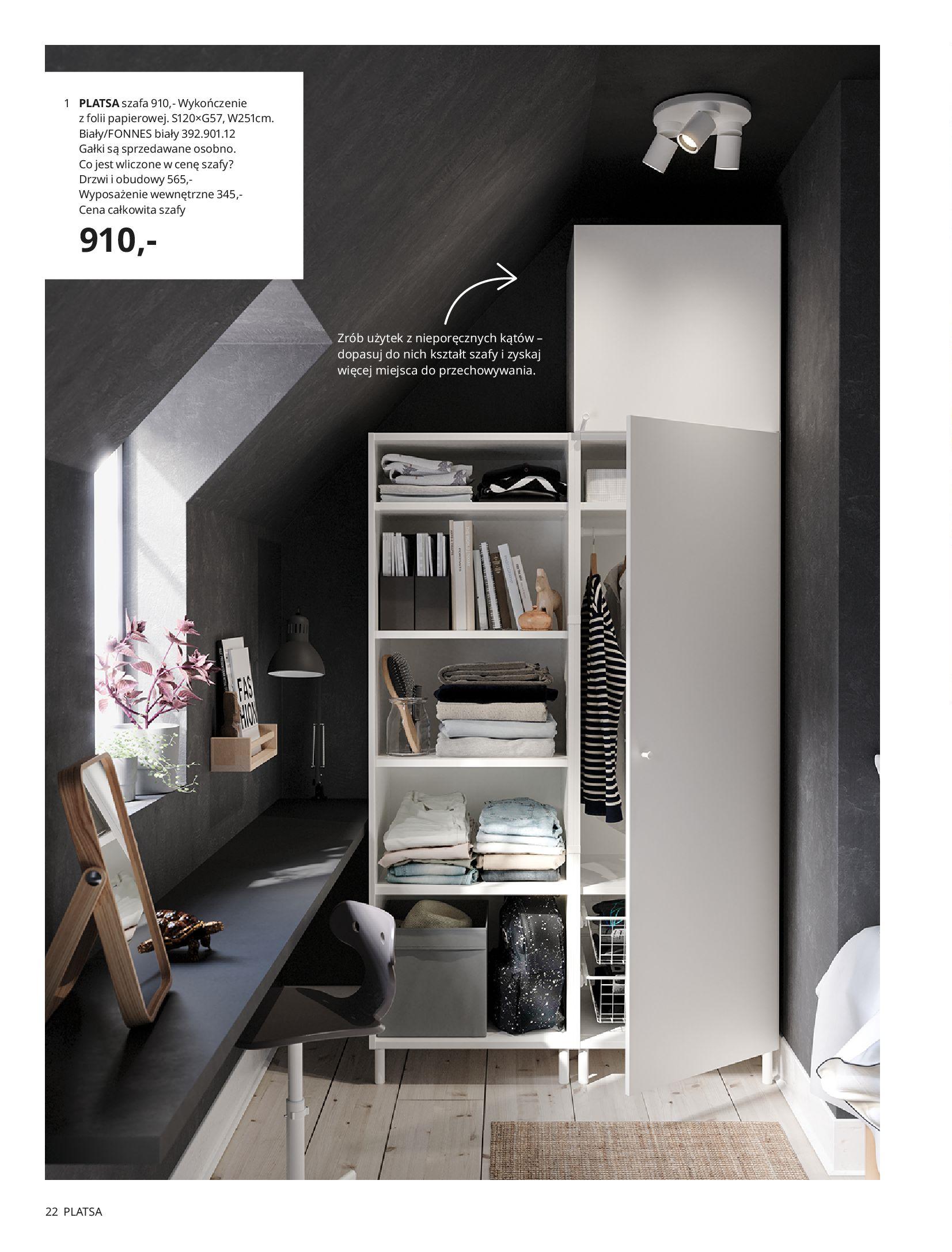 Gazetka IKEA: SZAFY 2021 2021-01-13 page-22
