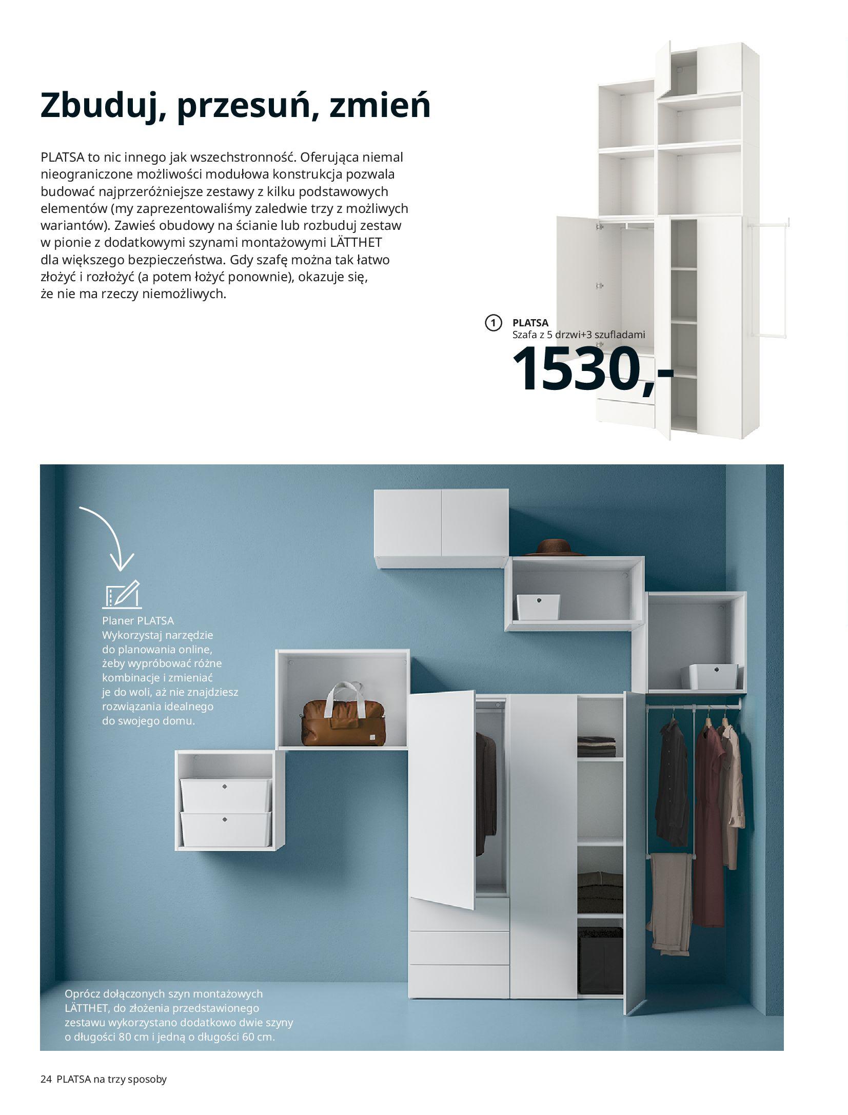 Gazetka IKEA: SZAFY 2021 2021-01-13 page-24
