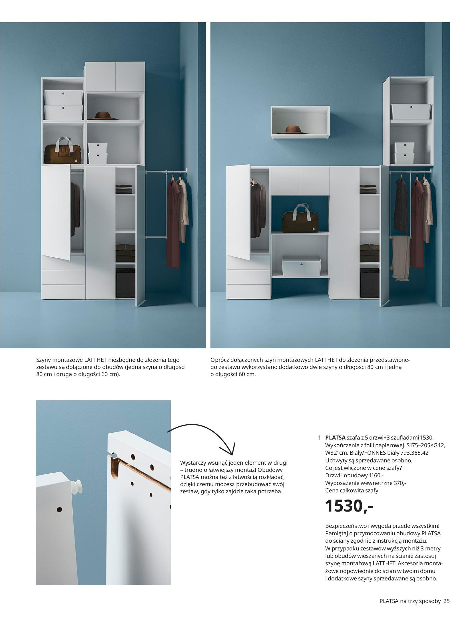Gazetka IKEA: SZAFY 2021 2021-01-13 page-25