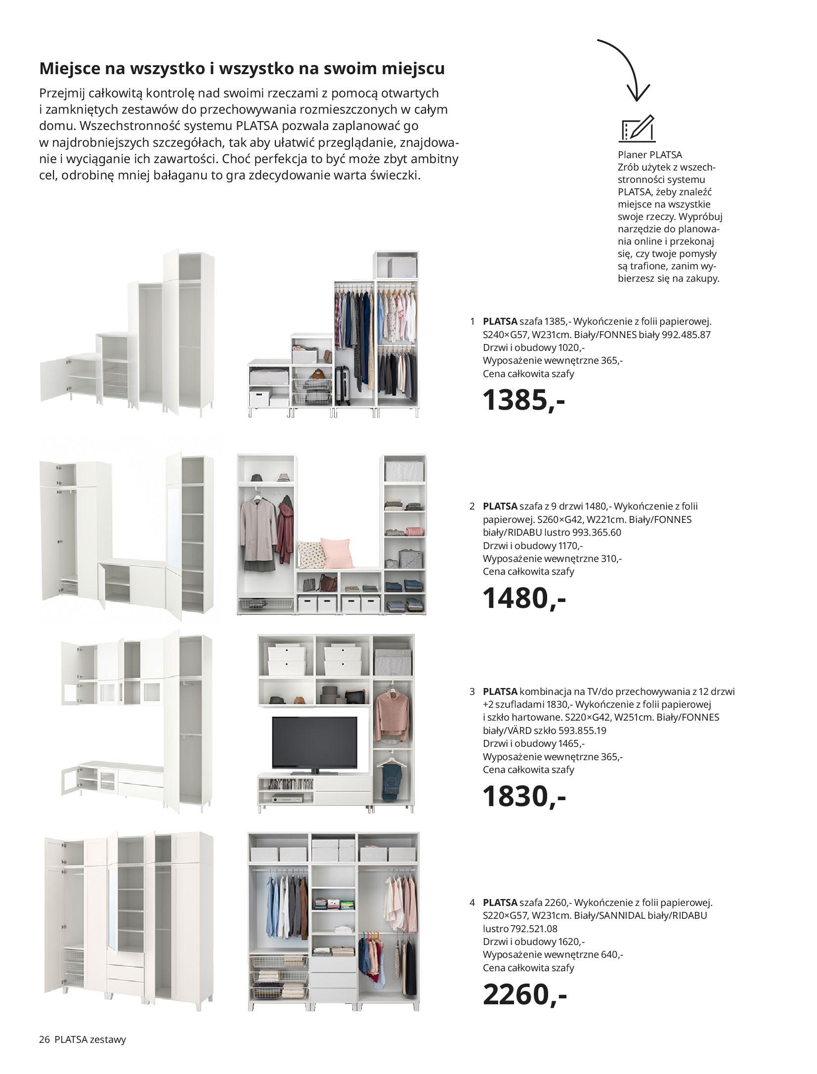 Gazetka IKEA: SZAFY 2021 2021-01-13 page-26