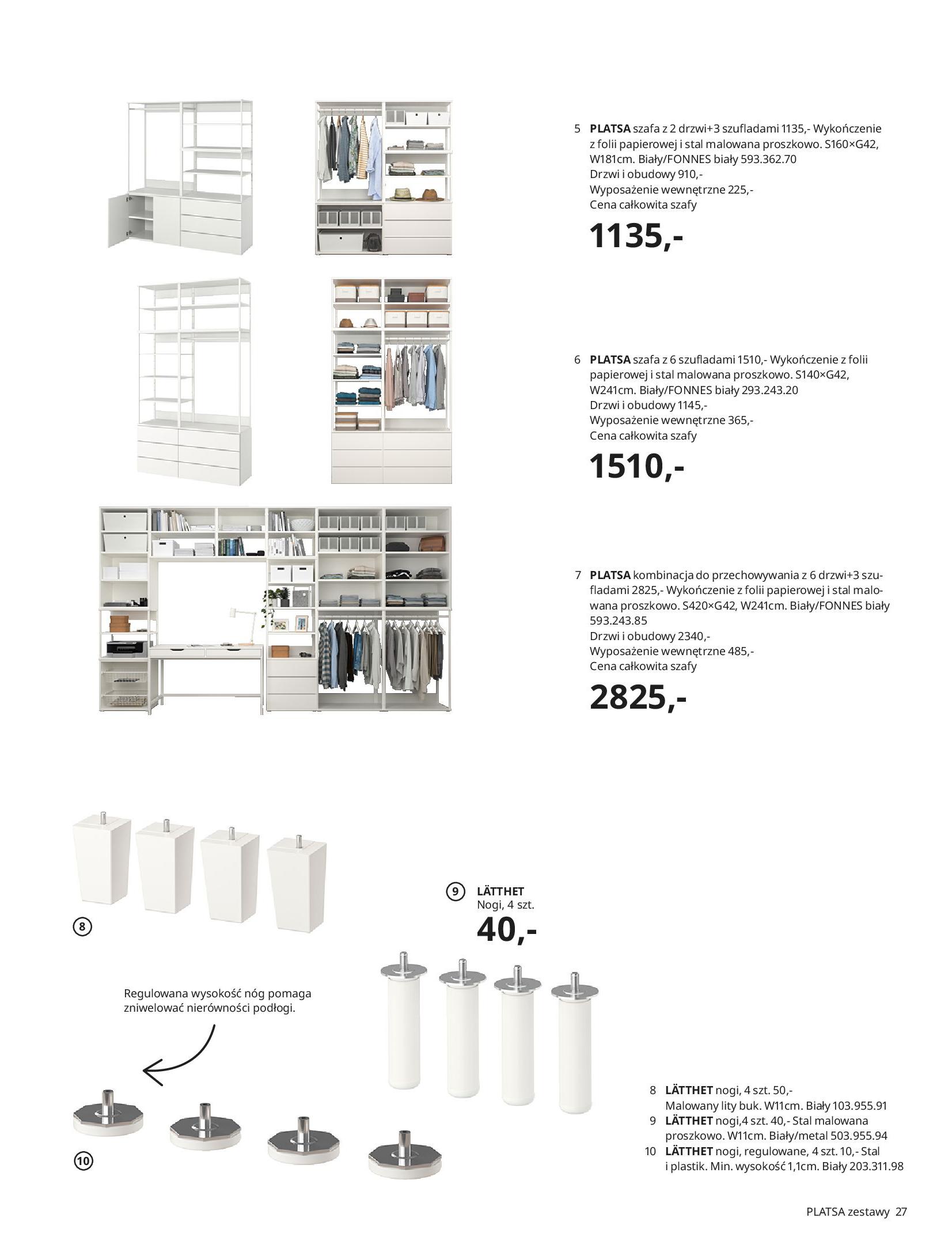 Gazetka IKEA: SZAFY 2021 2021-01-13 page-27