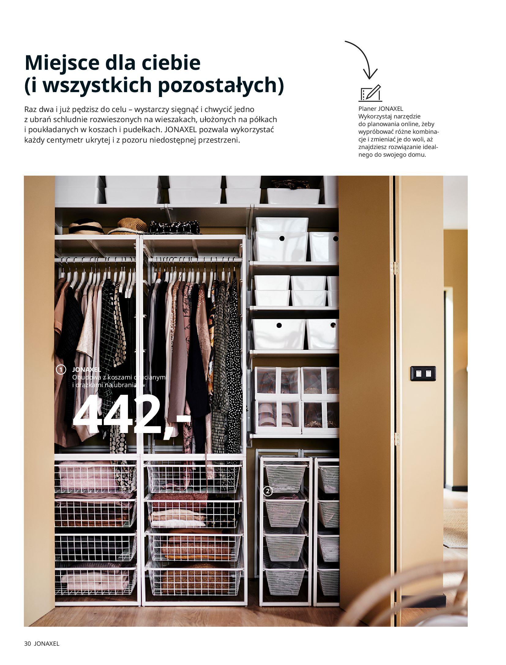 Gazetka IKEA: SZAFY 2021 2021-01-13 page-30