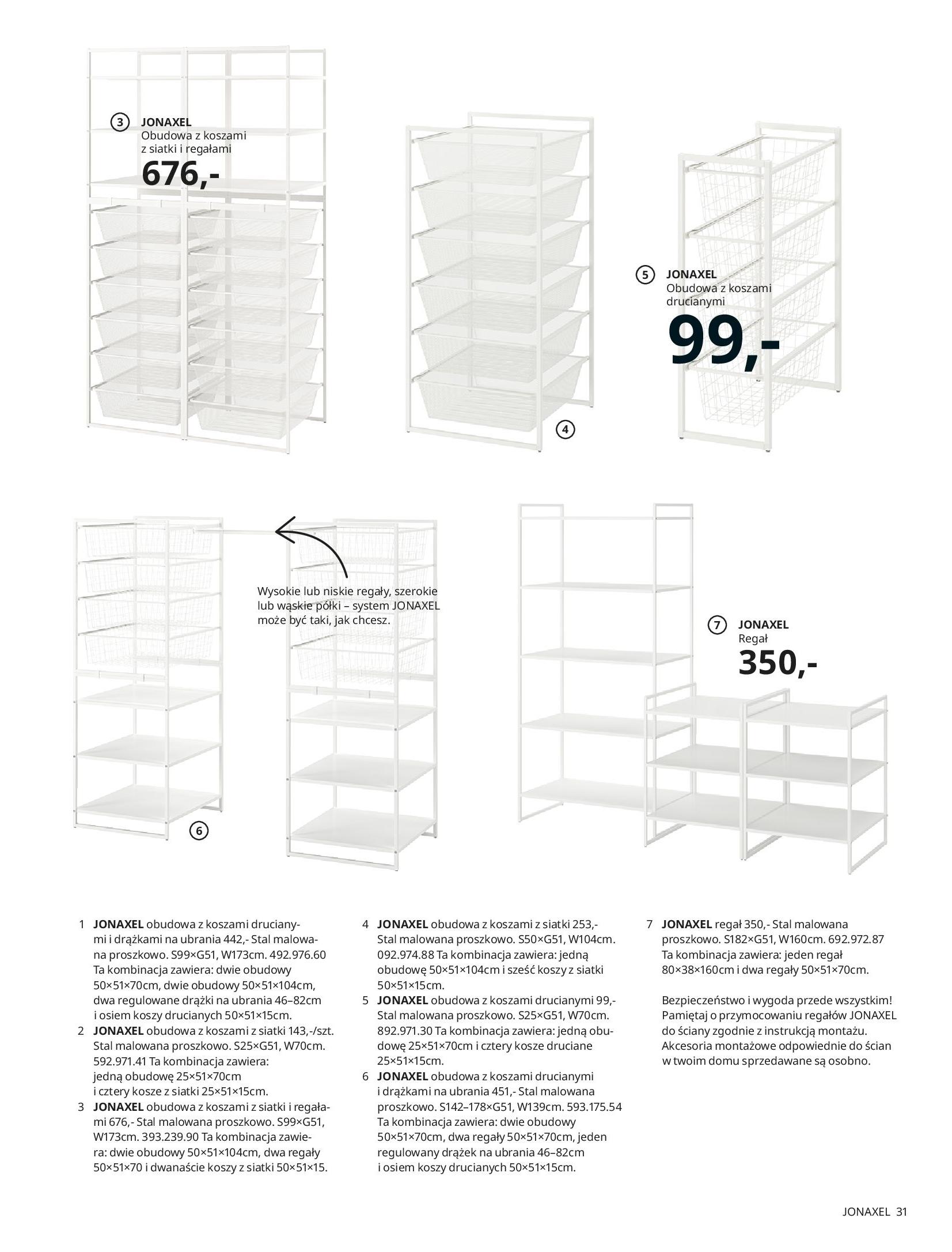 Gazetka IKEA: SZAFY 2021 2021-01-13 page-31