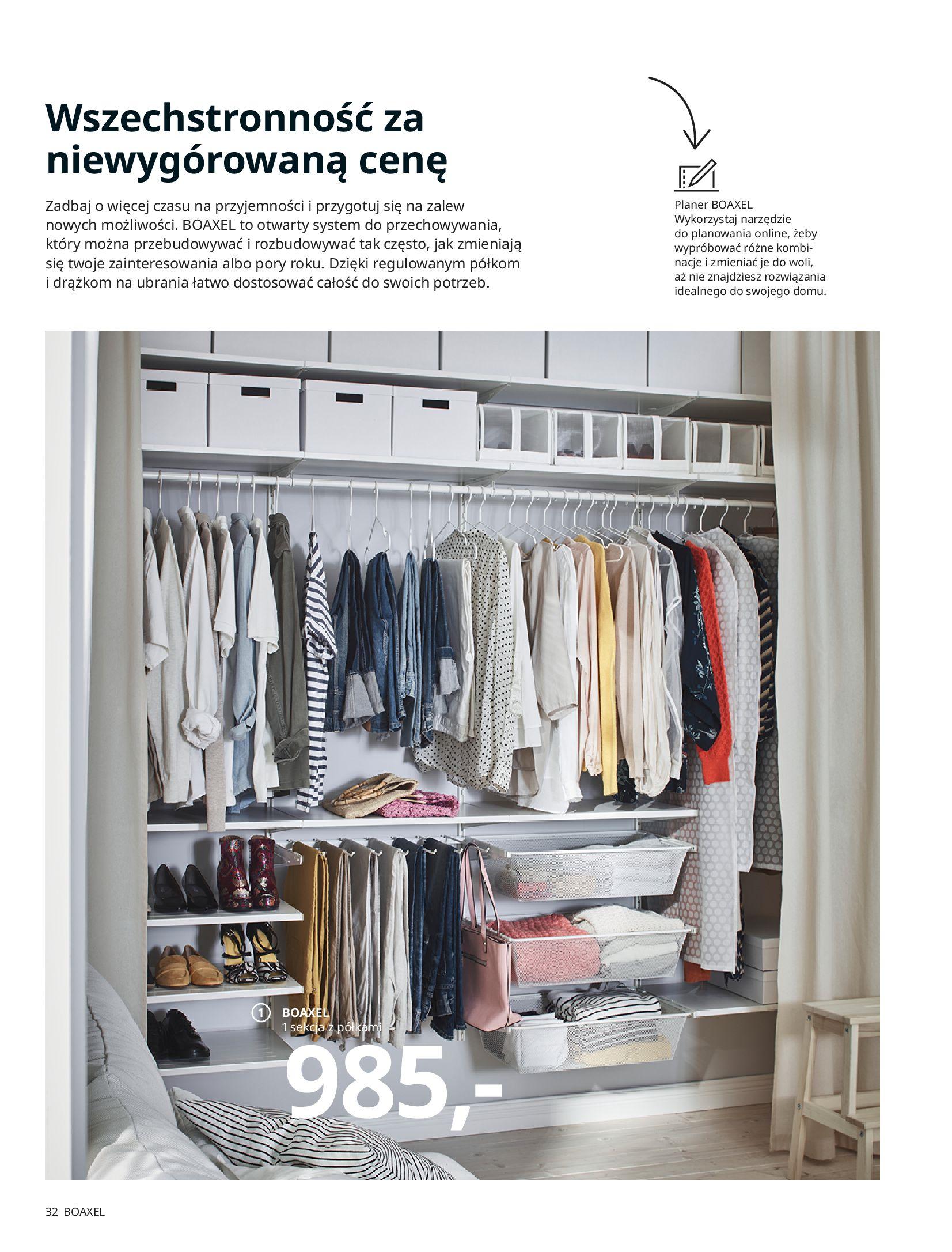 Gazetka IKEA: SZAFY 2021 2021-01-13 page-32
