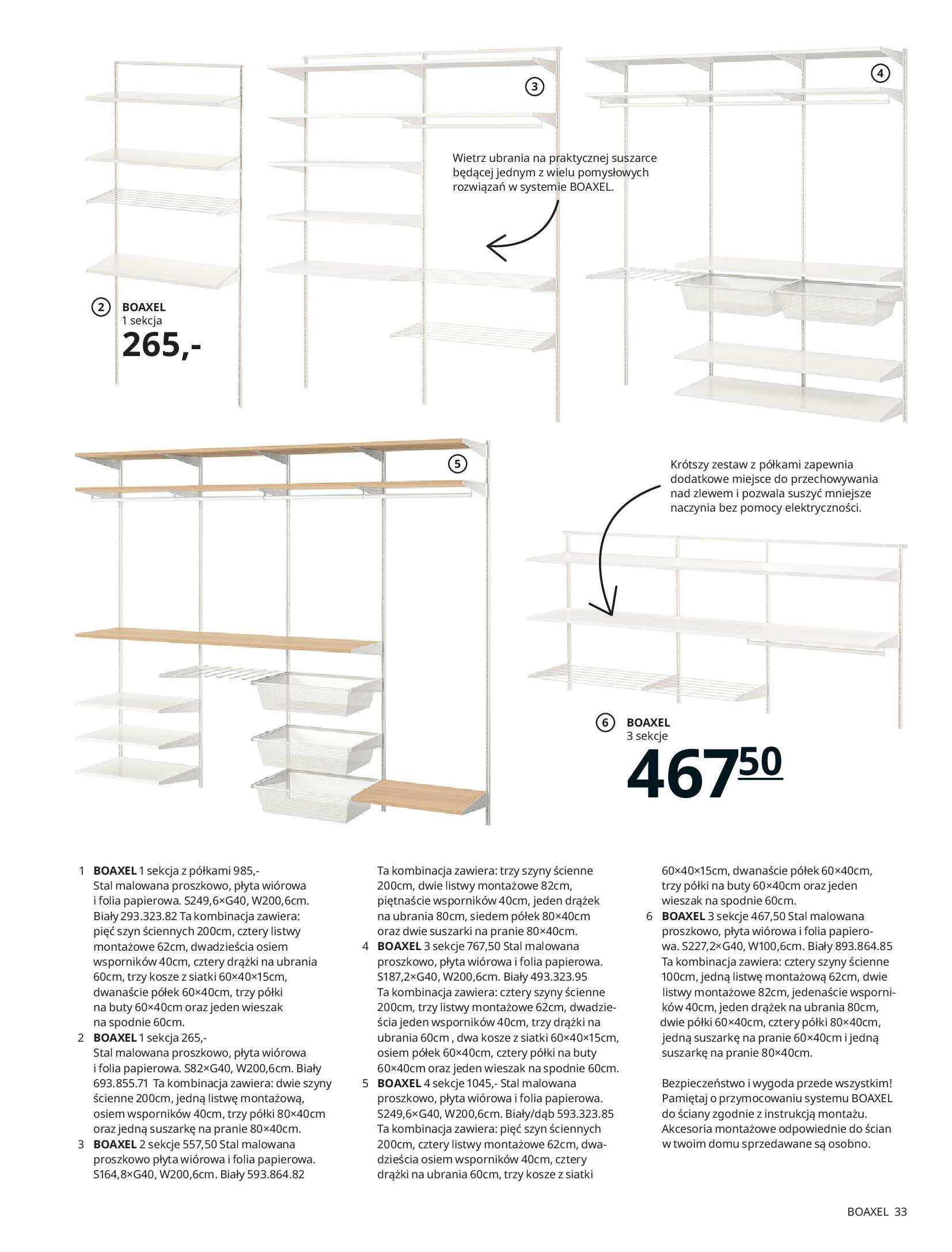 Gazetka IKEA: SZAFY 2021 2021-01-13 page-33