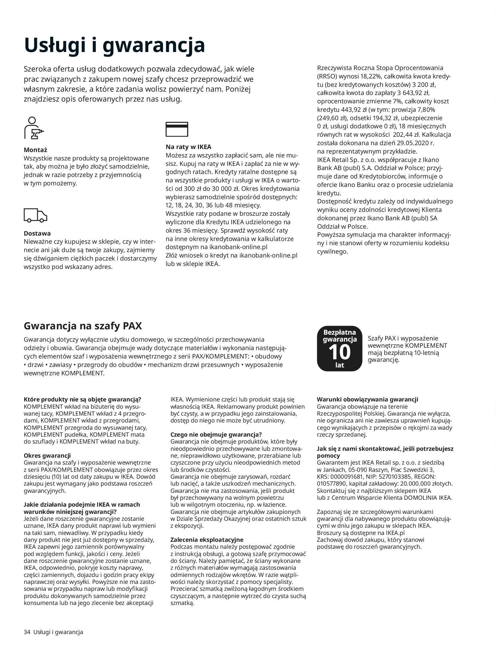 Gazetka IKEA: SZAFY 2021 2021-01-13 page-34