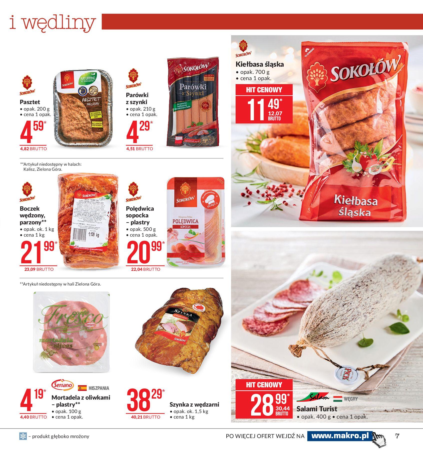 Gazetka Makro - Artykuły spożywcze-04.11.2019-18.11.2019-page-7