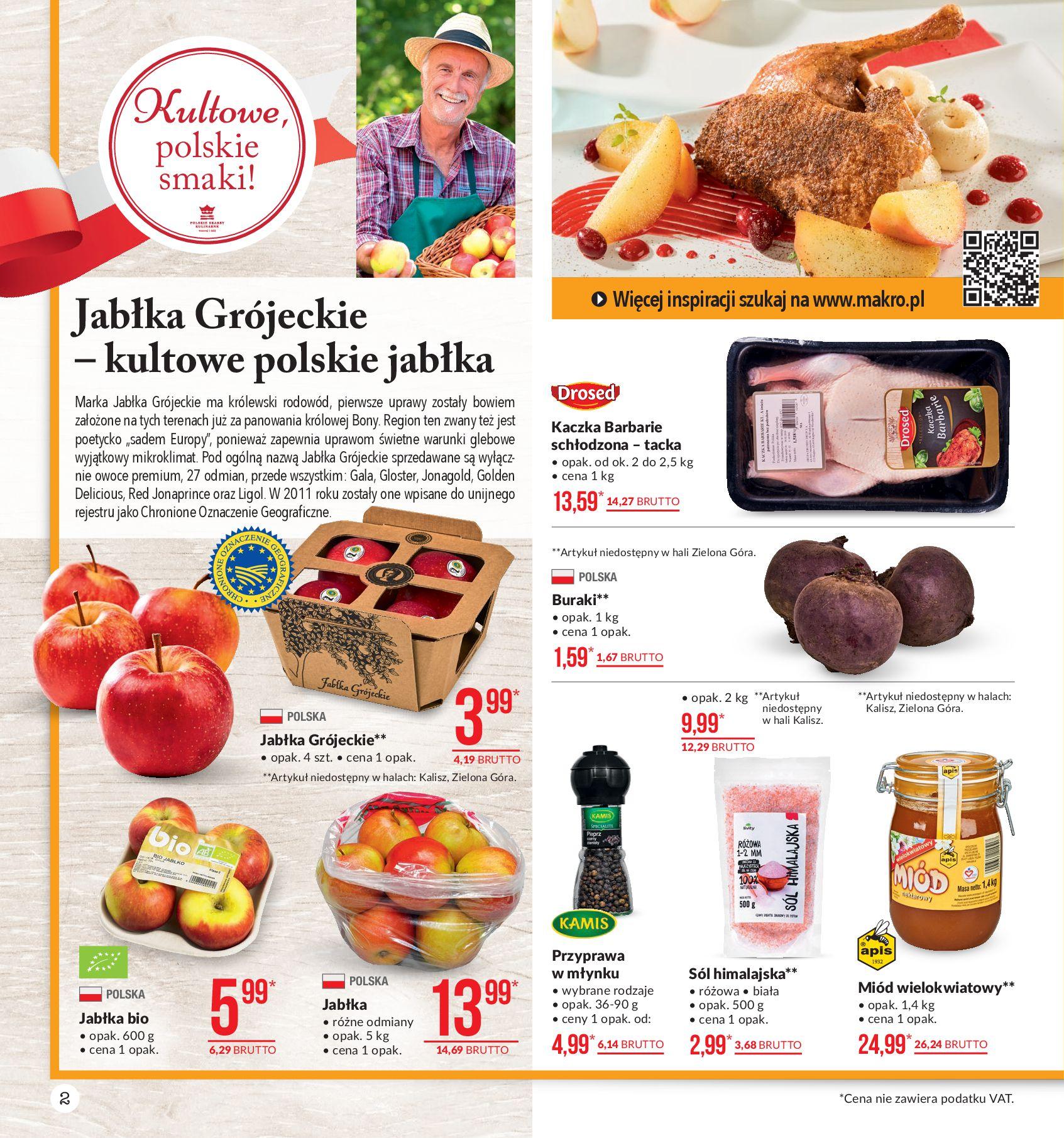 Gazetka Makro - Artykuły spożywcze-04.11.2019-18.11.2019-page-2
