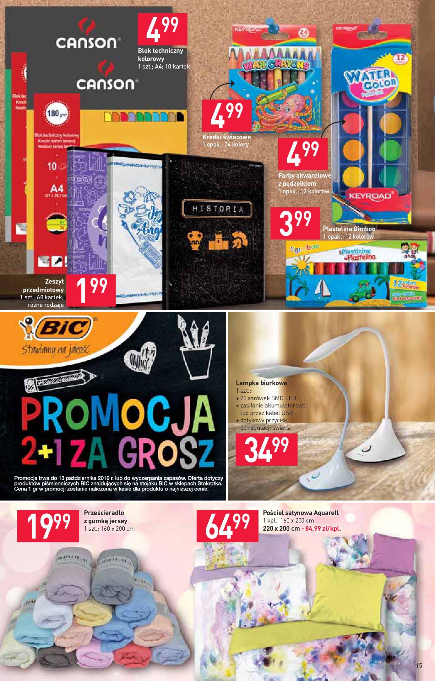 Gazetka Stokrotka Supermarket - Gazetka supermarket-13.08.2019-21.08.2019-page-15