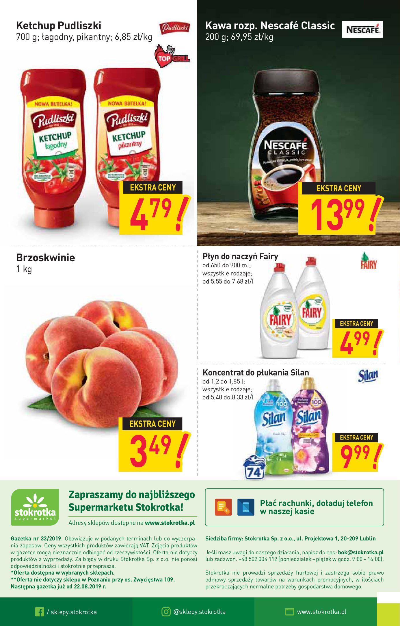 Gazetka Stokrotka Supermarket - Gazetka supermarket-13.08.2019-21.08.2019-page-16