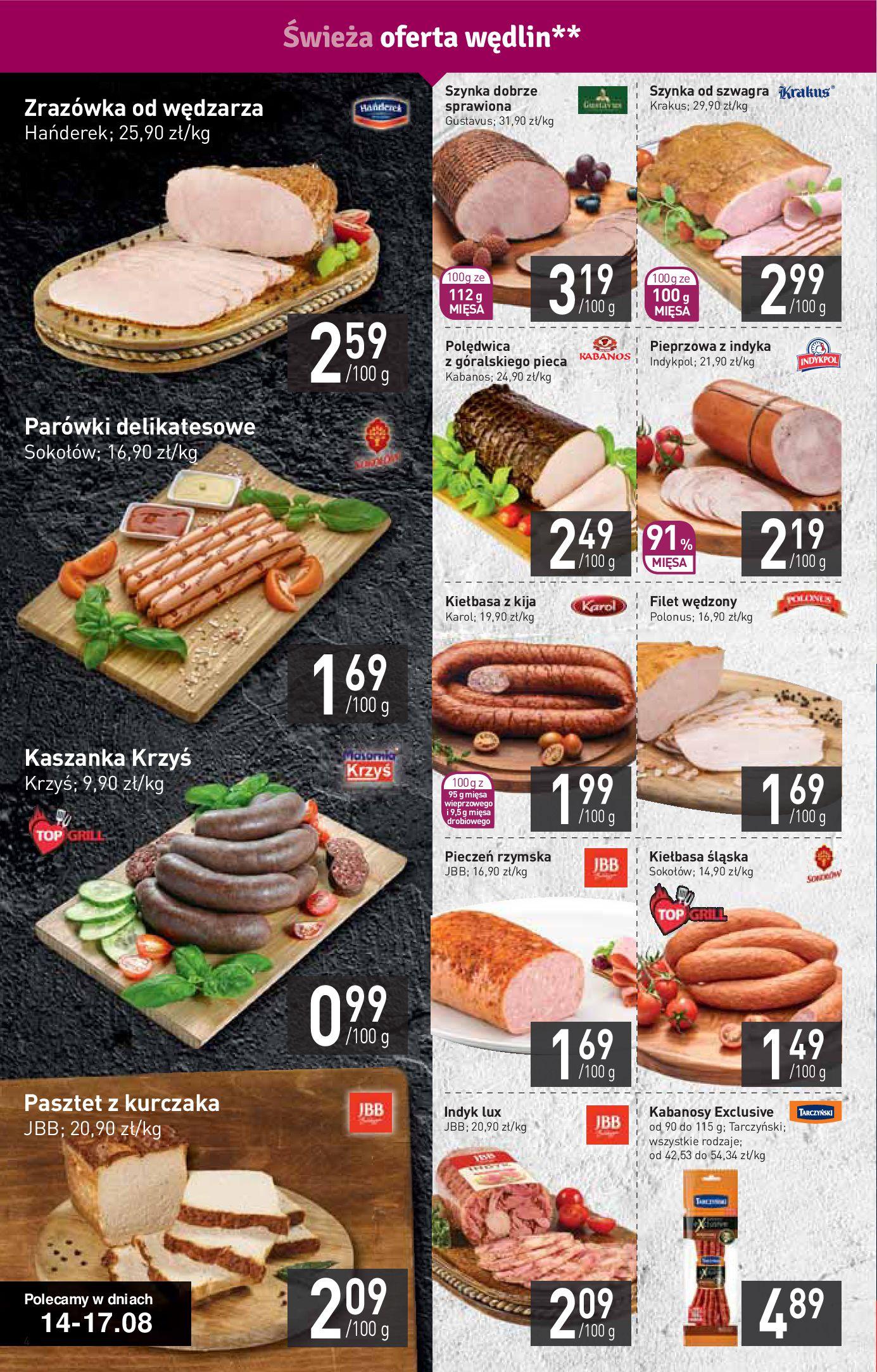 Gazetka Stokrotka Supermarket - Gazetka supermarket-13.08.2019-21.08.2019-page-4