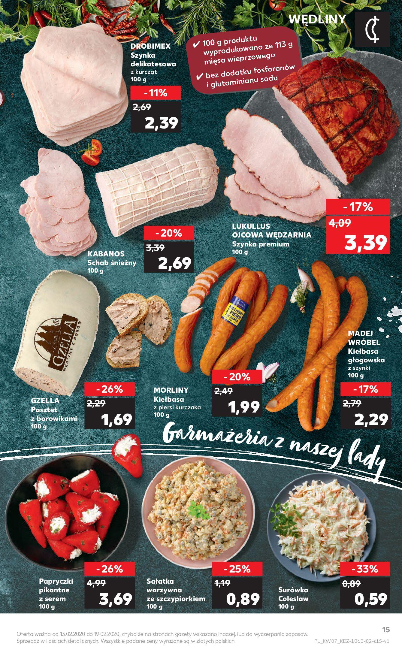 Gazetka Kaufland - Na dobry tydzień-12.02.2020-19.02.2020-page-15