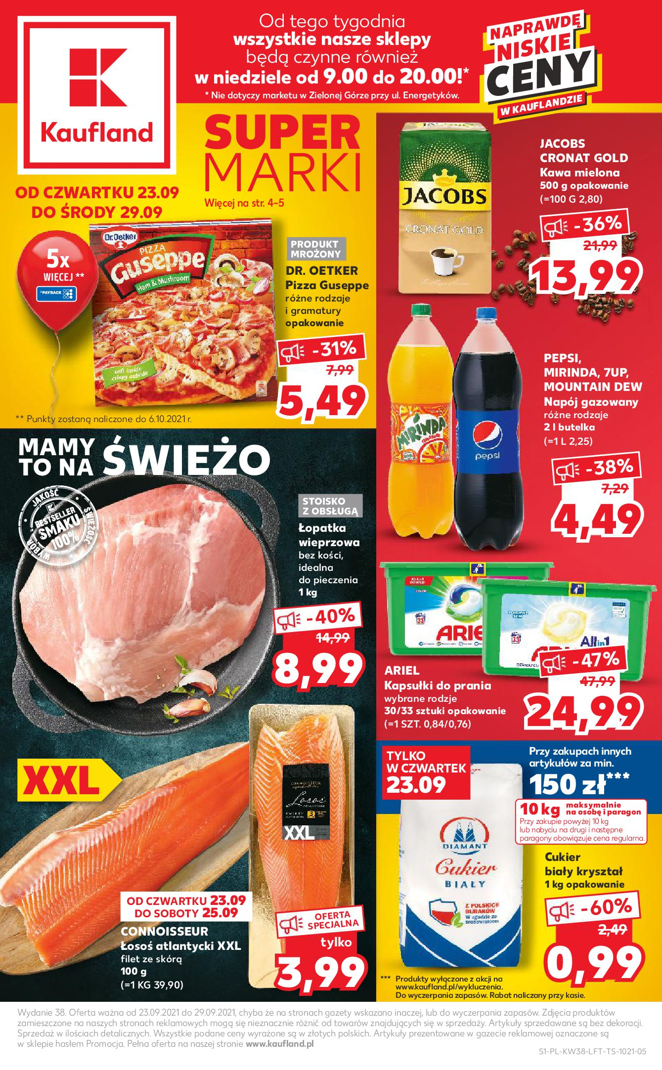 Gazetka Kaufland: Gazetka Kaufland 23-29.09. - 22.09.2021