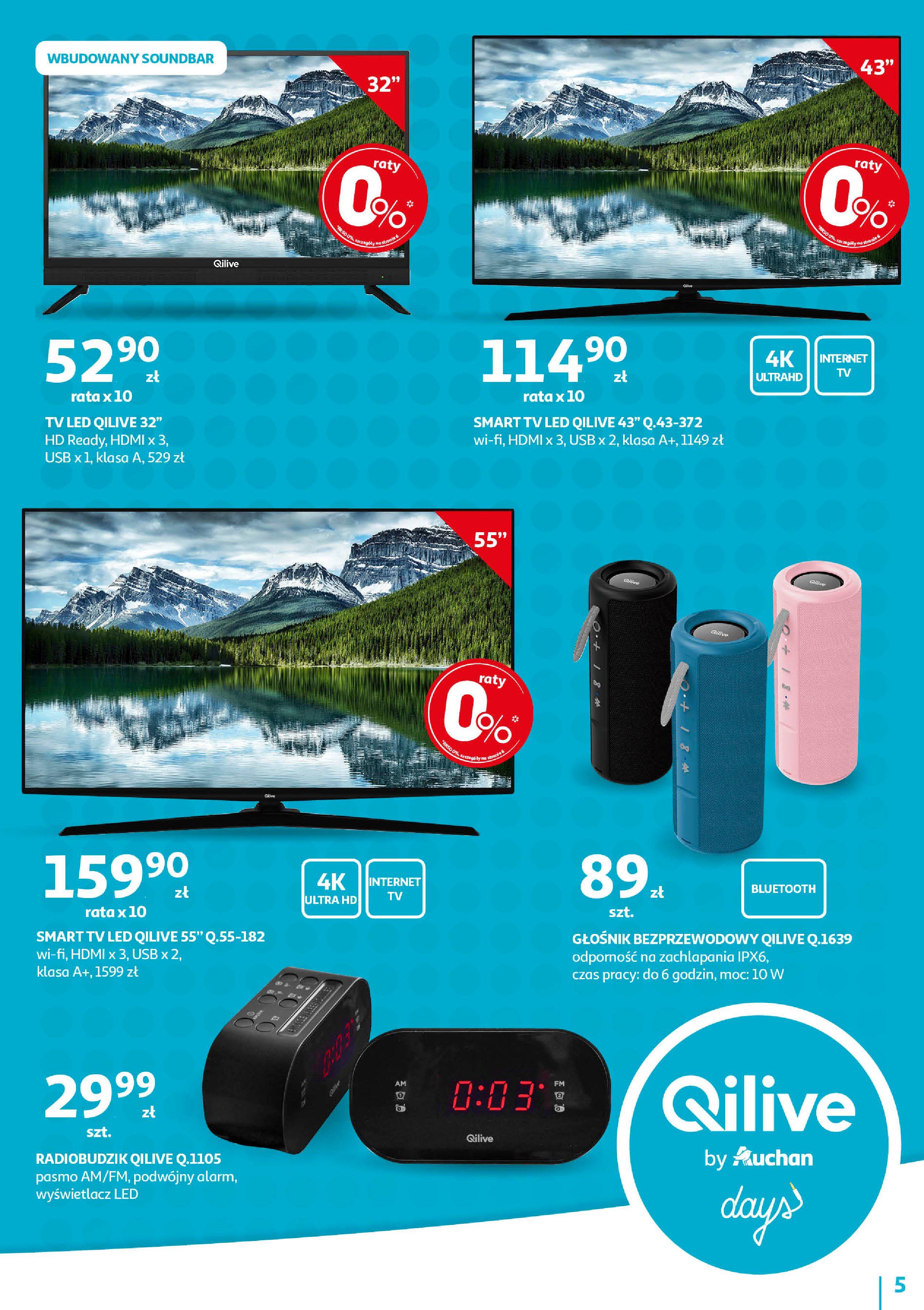 Gazetka Auchan - QILIVE byAuchan days  Hipermarkety-11.09.2019-21.09.2019-page-5