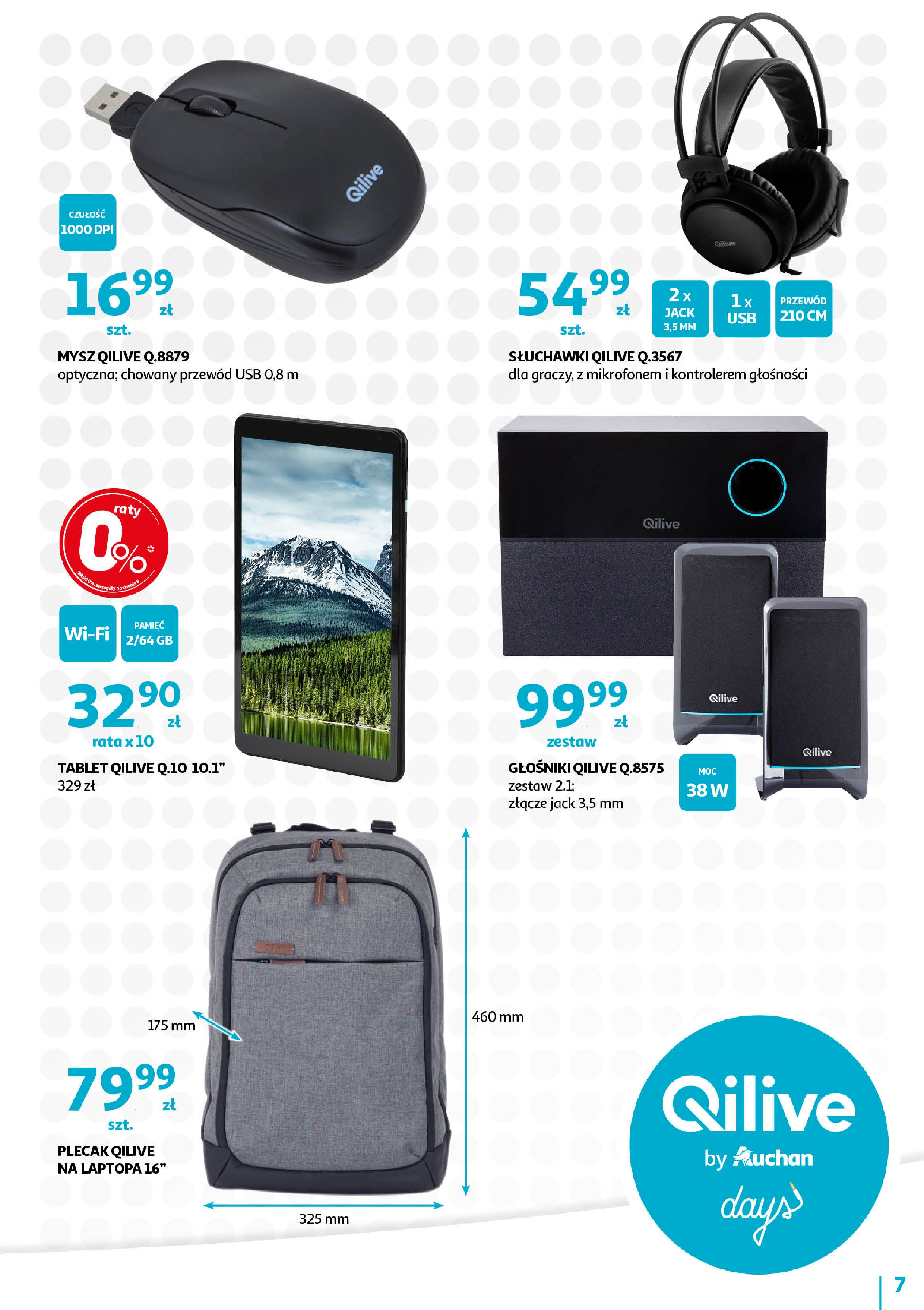 Gazetka Auchan - QILIVE byAuchan days  Hipermarkety-11.09.2019-21.09.2019-page-7