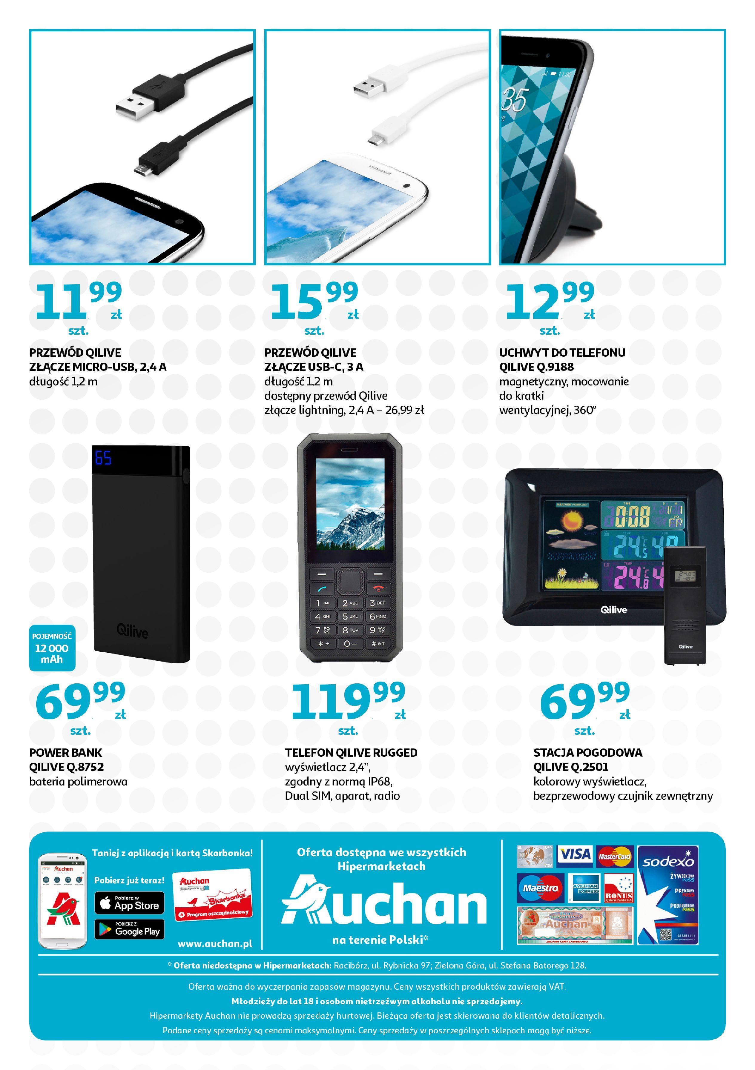 Gazetka Auchan - QILIVE byAuchan days  Hipermarkety-11.09.2019-21.09.2019-page-8