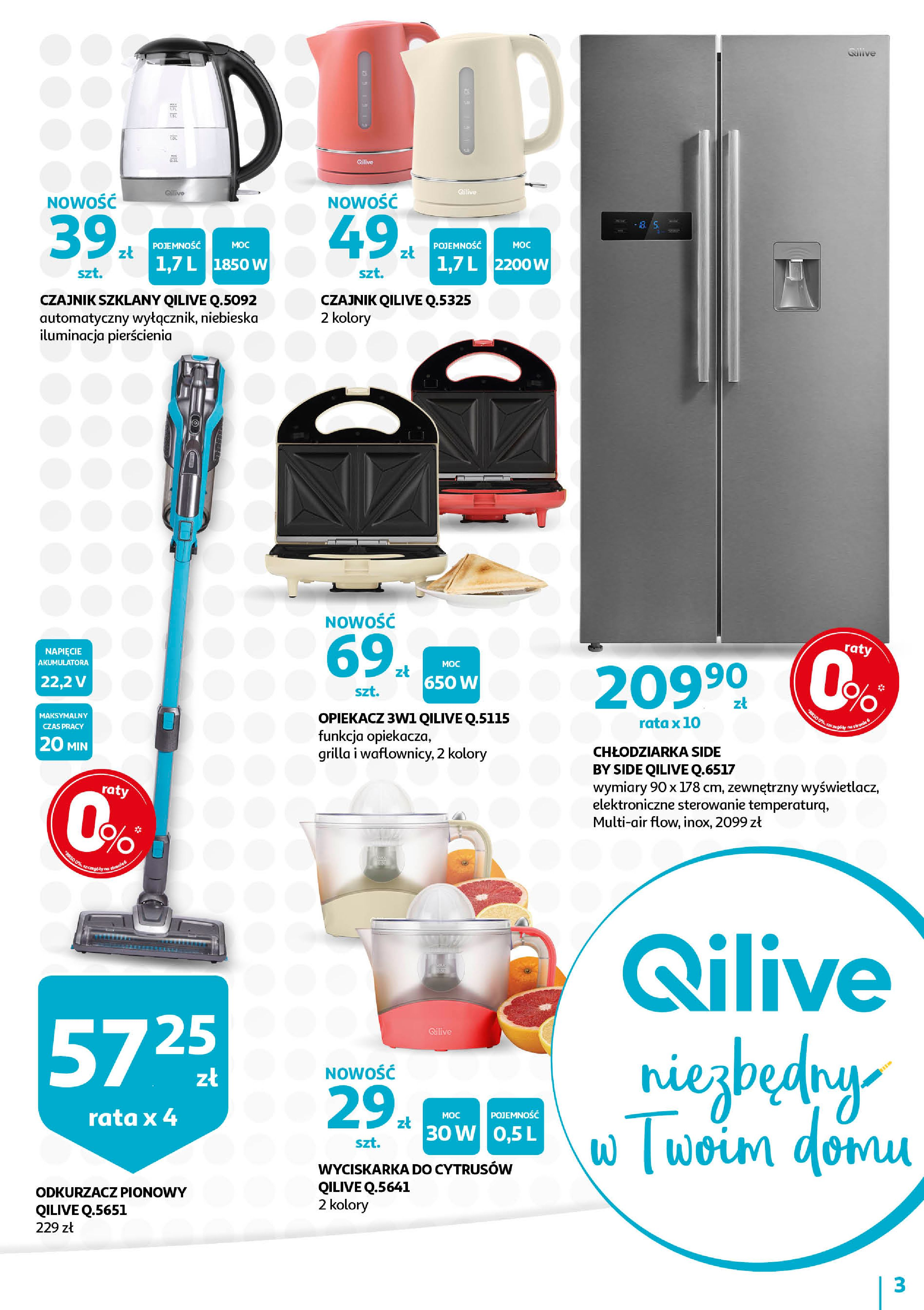 Gazetka Auchan - QILIVE byAuchan days  Hipermarkety-11.09.2019-21.09.2019-page-3