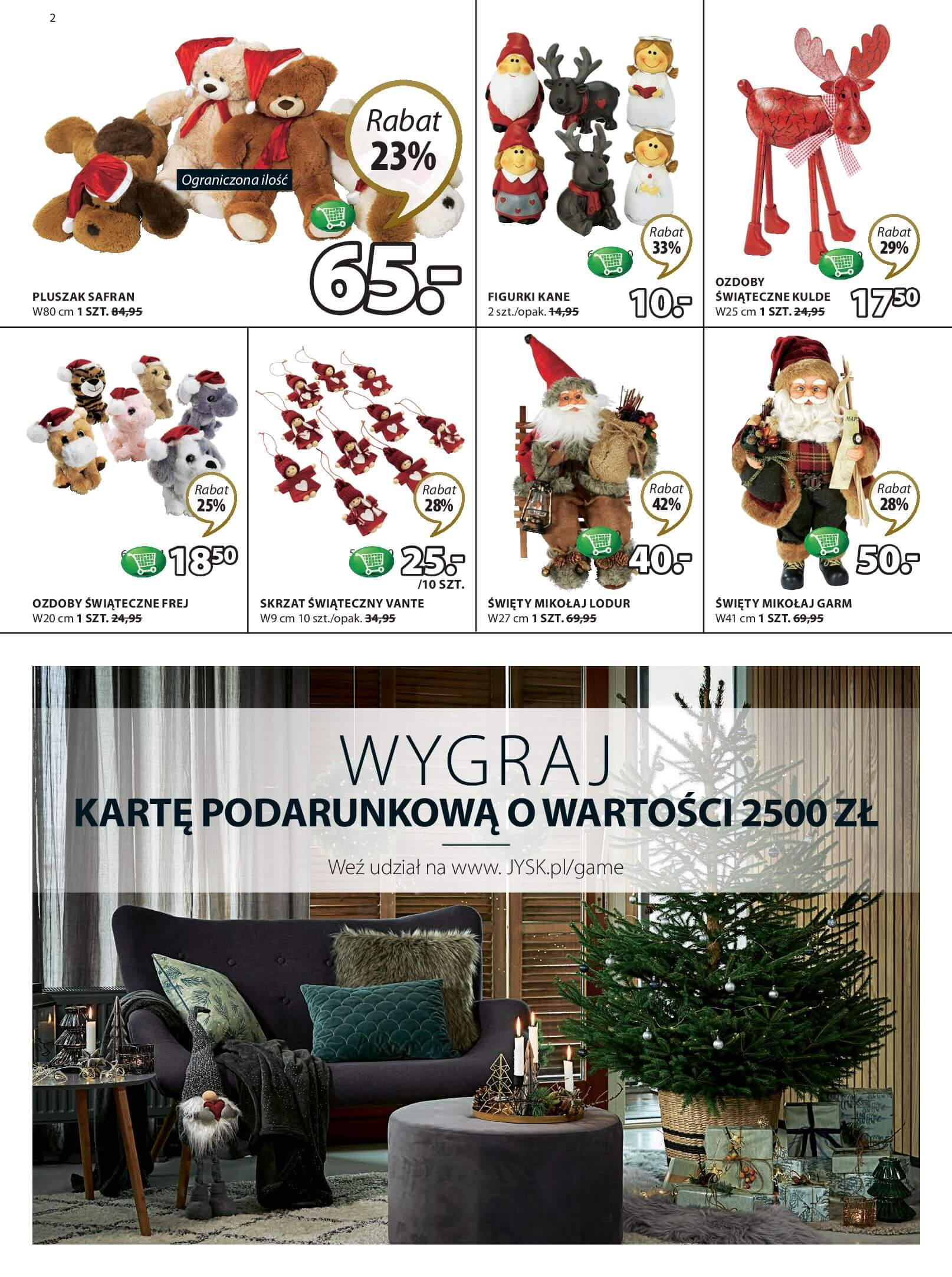 Gazetka Jysk - Świąteczne rabaty-29.11.2017-13.12.2017-page-2