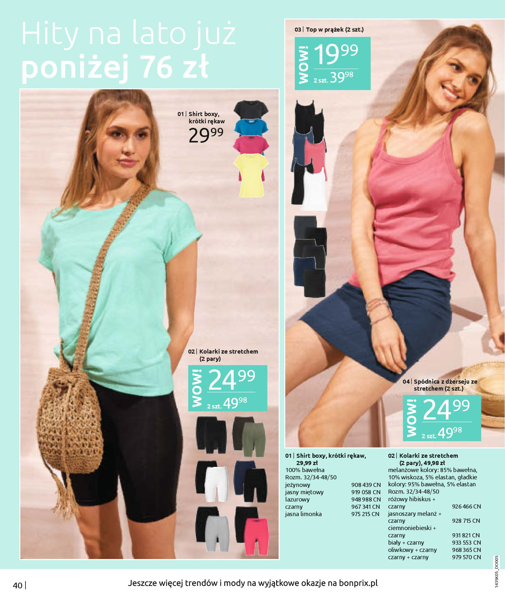 Gazetka Bonprix: Katalog Bonprix Postaw na kolor 2021-05-26 page-42