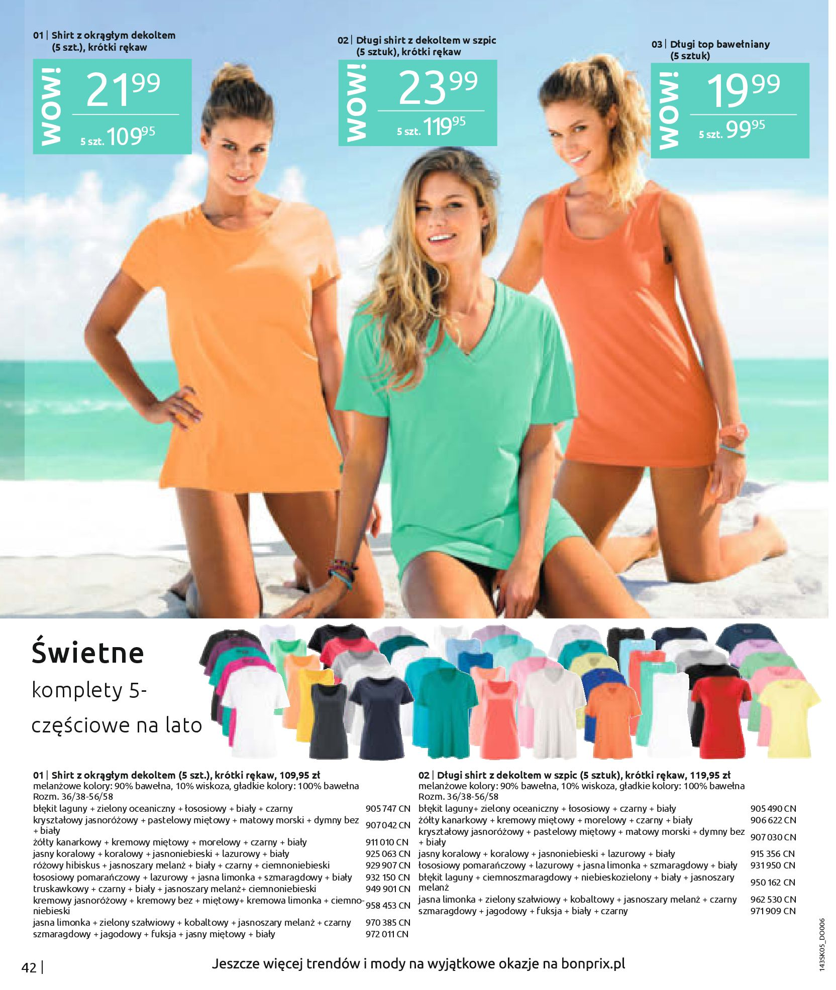 Gazetka Bonprix: Katalog Bonprix Postaw na kolor 2021-05-26 page-44