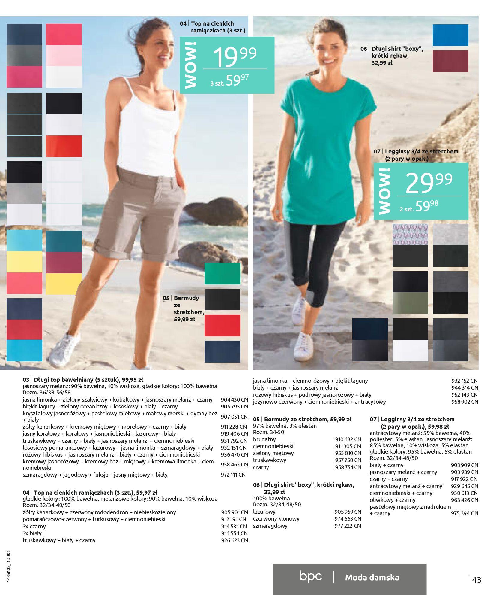 Gazetka Bonprix: Katalog Bonprix Postaw na kolor 2021-05-26 page-45