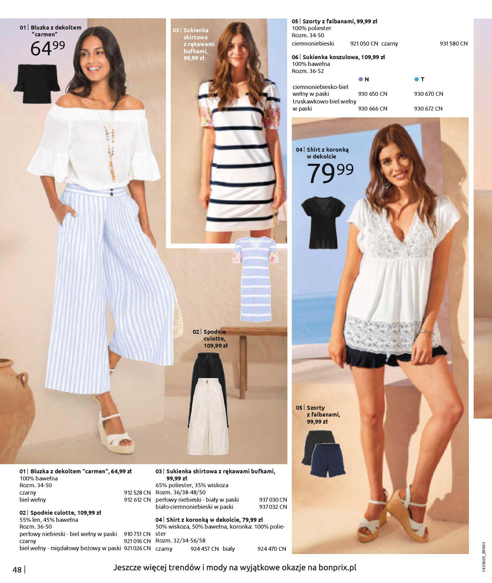 Gazetka Bonprix: Katalog Bonprix Postaw na kolor 2021-05-26 page-50