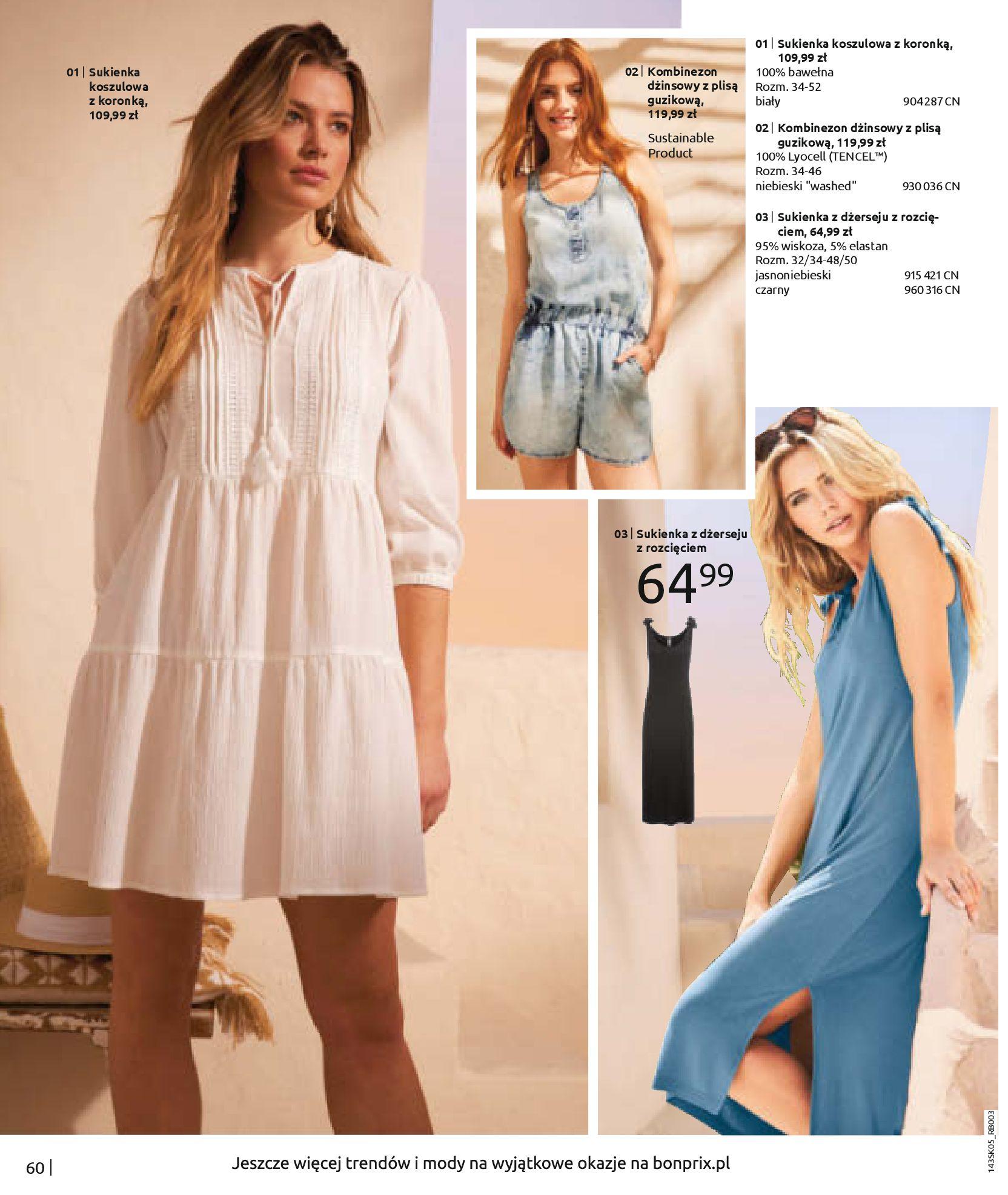 Gazetka Bonprix: Katalog Bonprix Postaw na kolor 2021-05-26 page-62