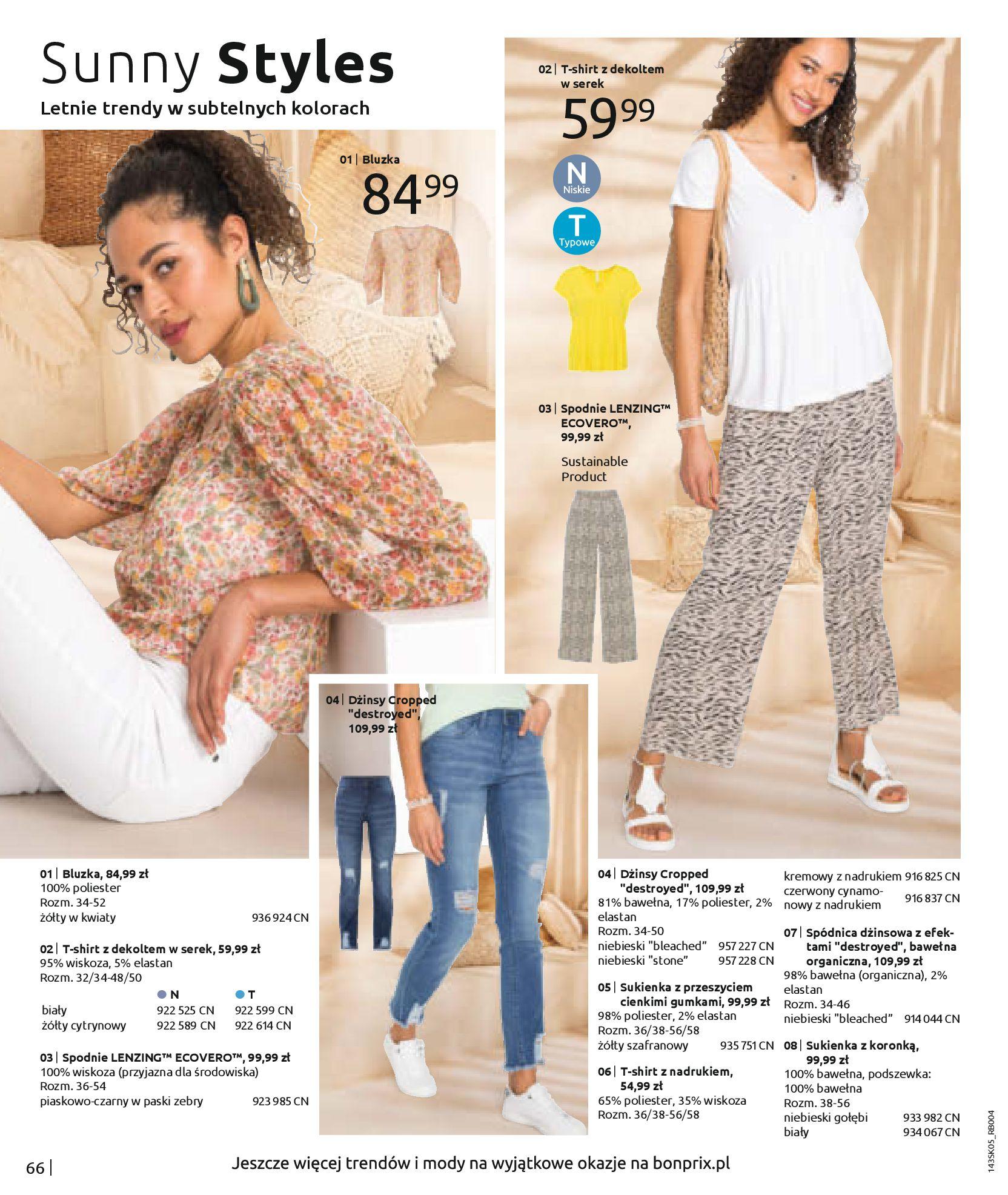 Gazetka Bonprix: Katalog Bonprix Postaw na kolor 2021-05-26 page-68