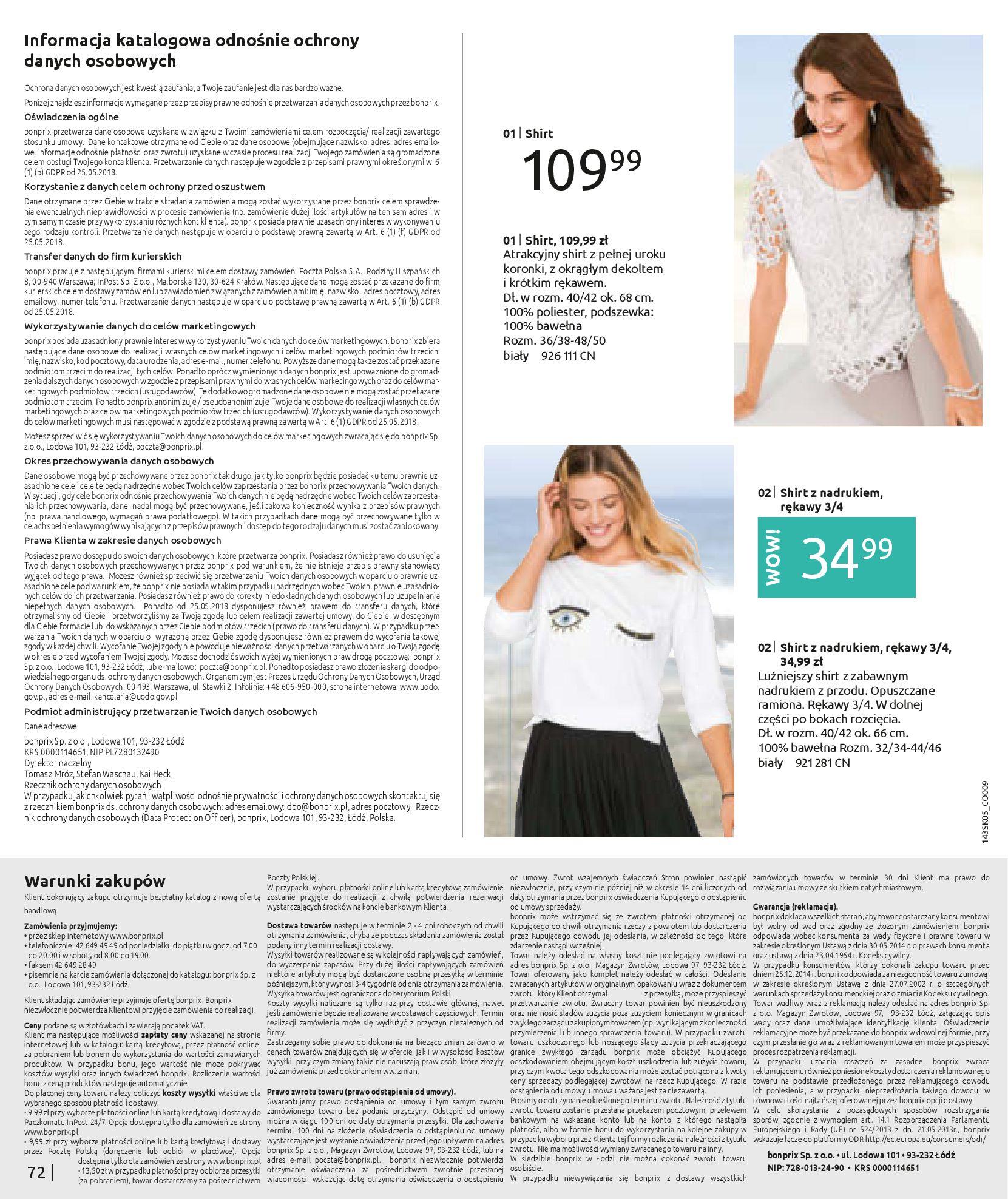 Gazetka Bonprix: Katalog Bonprix Postaw na kolor 2021-05-26 page-74