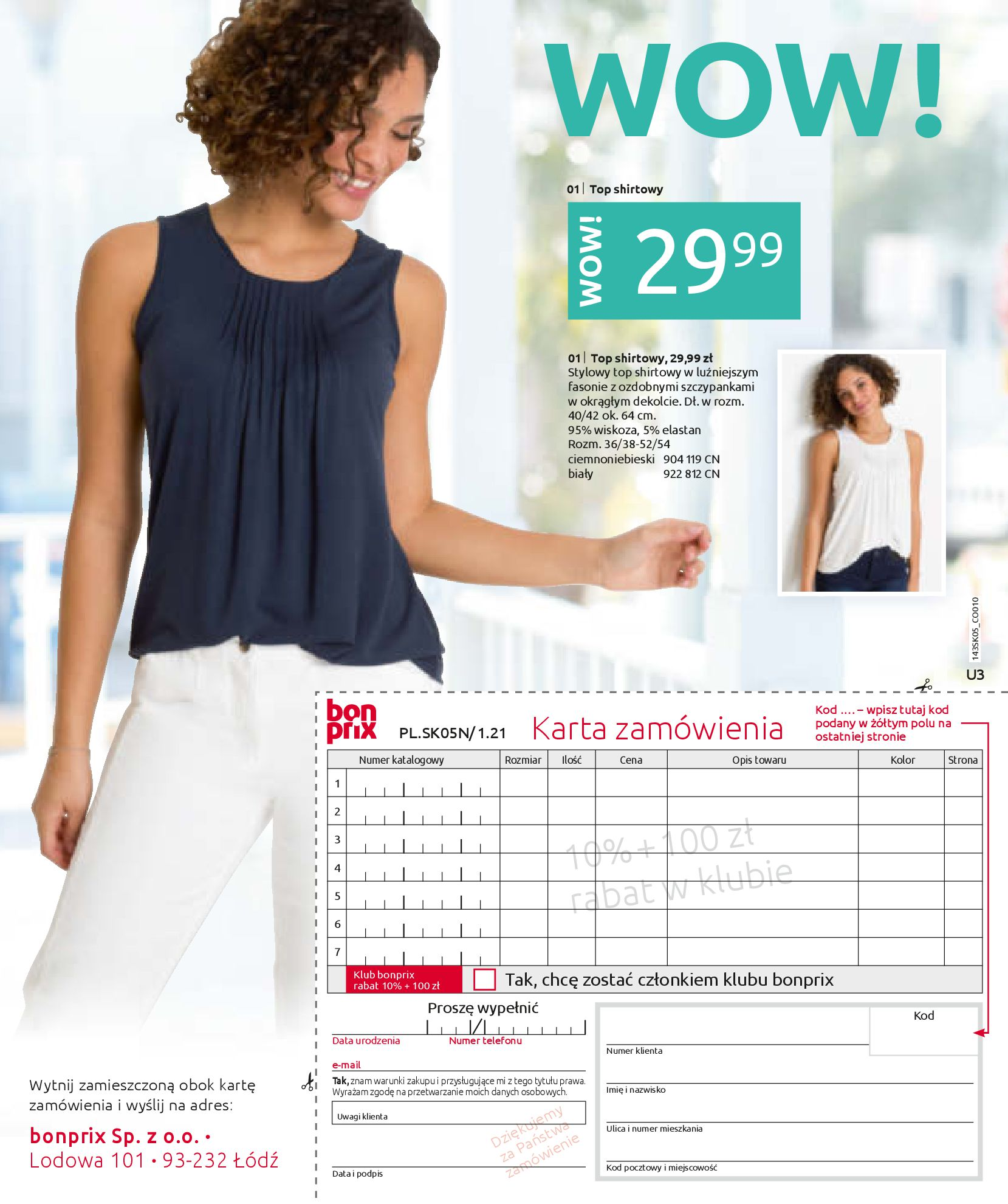 Gazetka Bonprix: Katalog Bonprix Postaw na kolor 2021-05-26 page-75