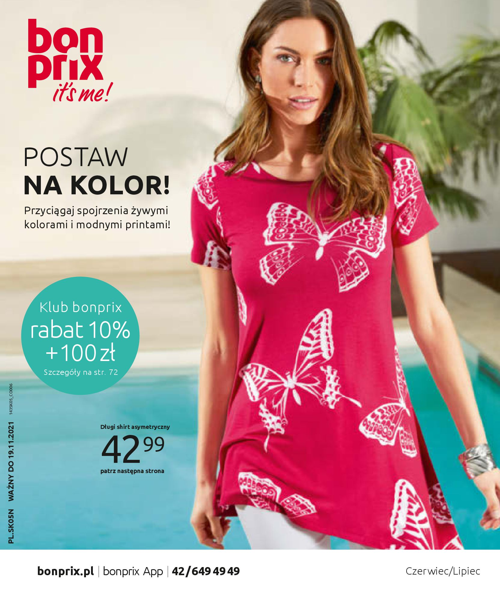 Gazetka Bonprix: Katalog Bonprix Postaw na kolor 2021-05-26 page-1