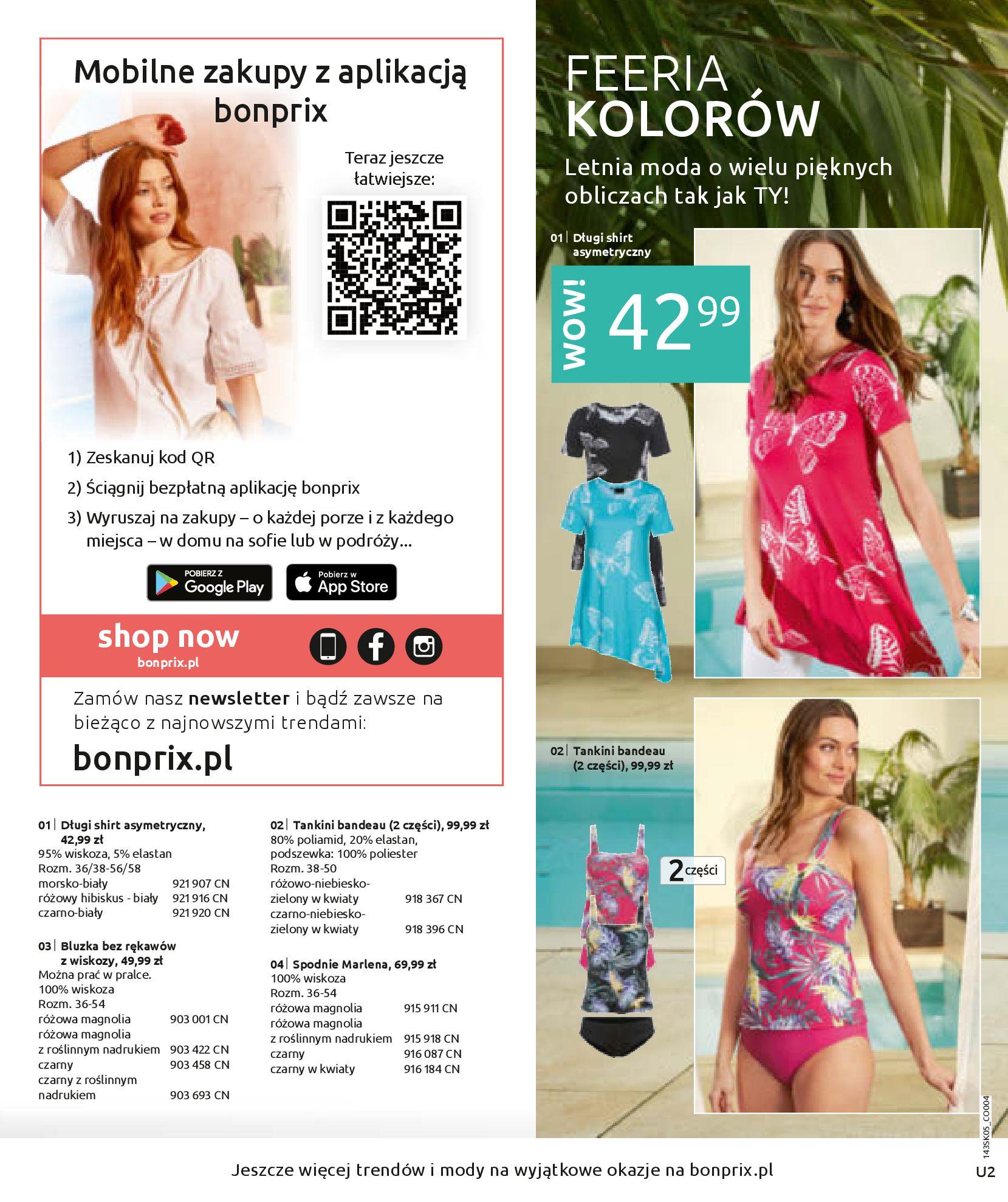 Gazetka Bonprix: Katalog Bonprix Postaw na kolor 2021-05-26 page-2