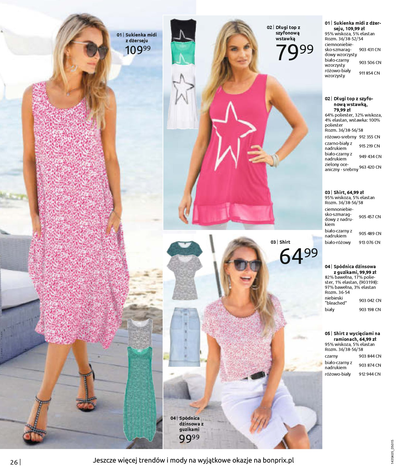 Gazetka Bonprix: Katalog Bonprix Postaw na kolor 2021-05-26 page-28