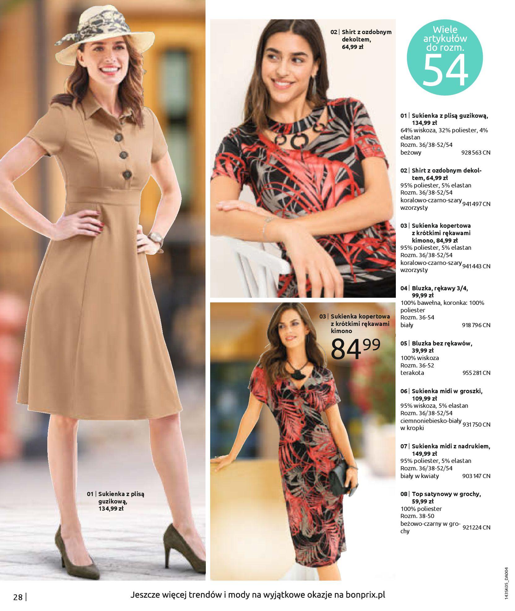 Gazetka Bonprix: Katalog Bonprix Postaw na kolor 2021-05-26 page-30