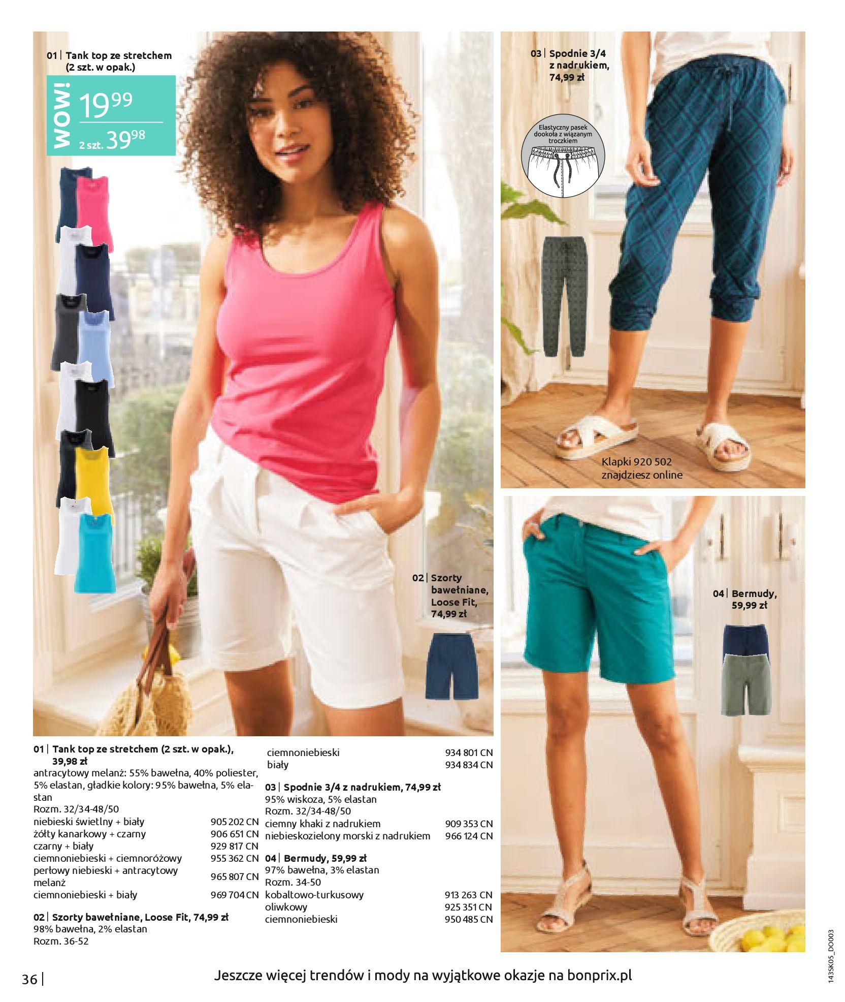 Gazetka Bonprix: Katalog Bonprix Postaw na kolor 2021-05-26 page-38