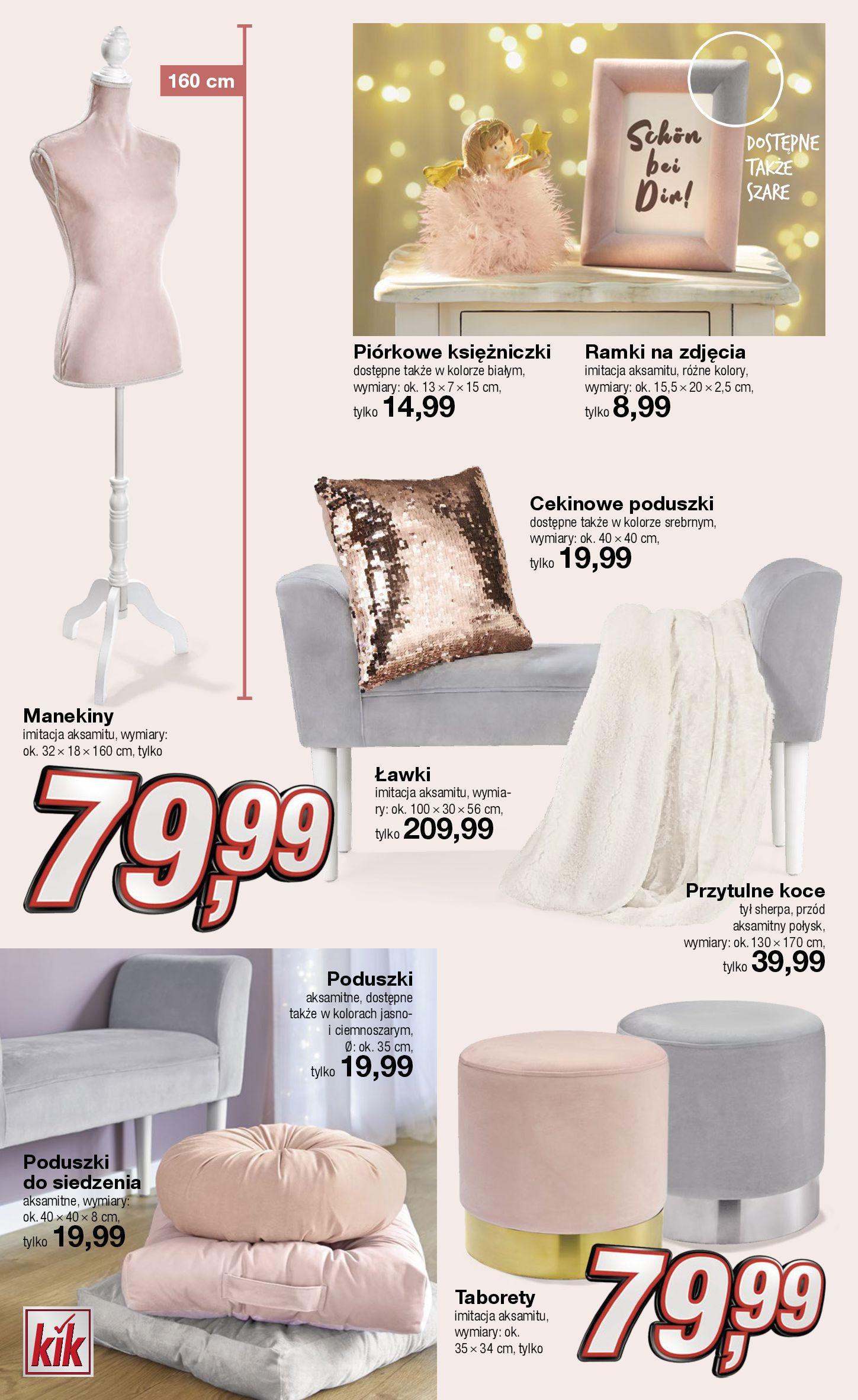 Gazetka KiK - Oferta na odzież i dekoracje-12.11.2019-13.12.2019-page-12