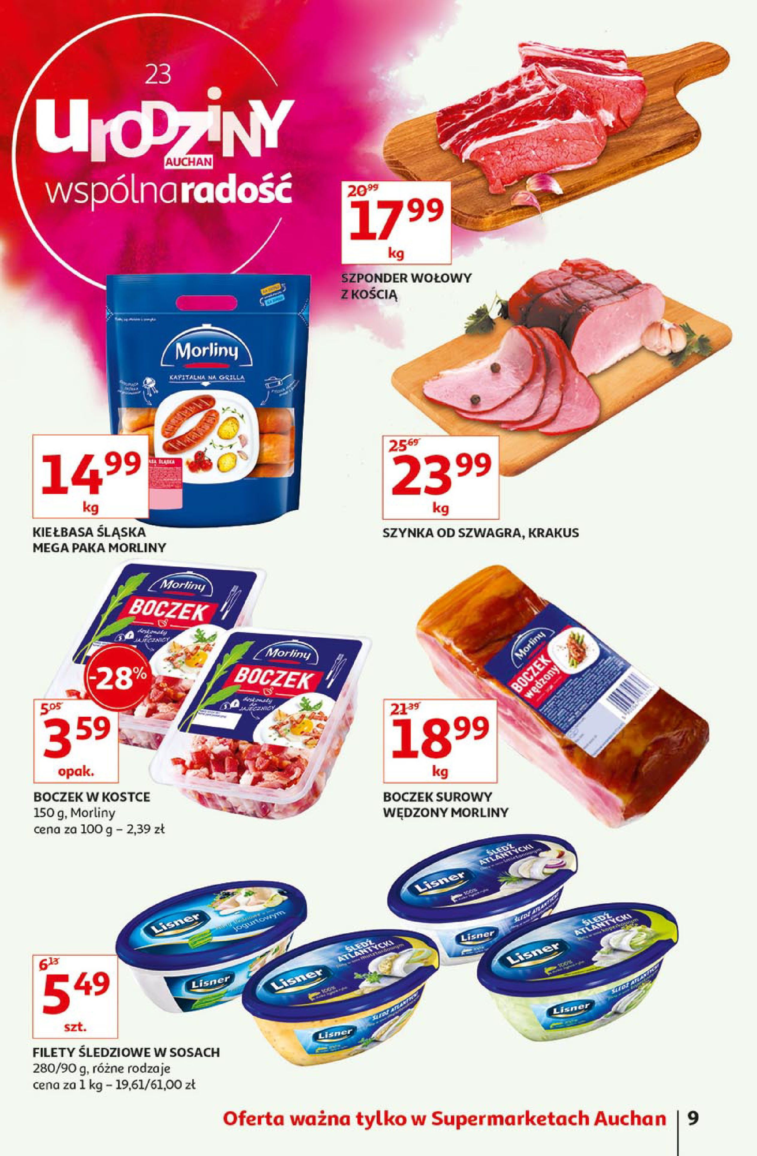 Gazetka Auchan - Urodziny Auchan cz. III - Auchan Supermarket-15.05.2019-23.05.2019-page-