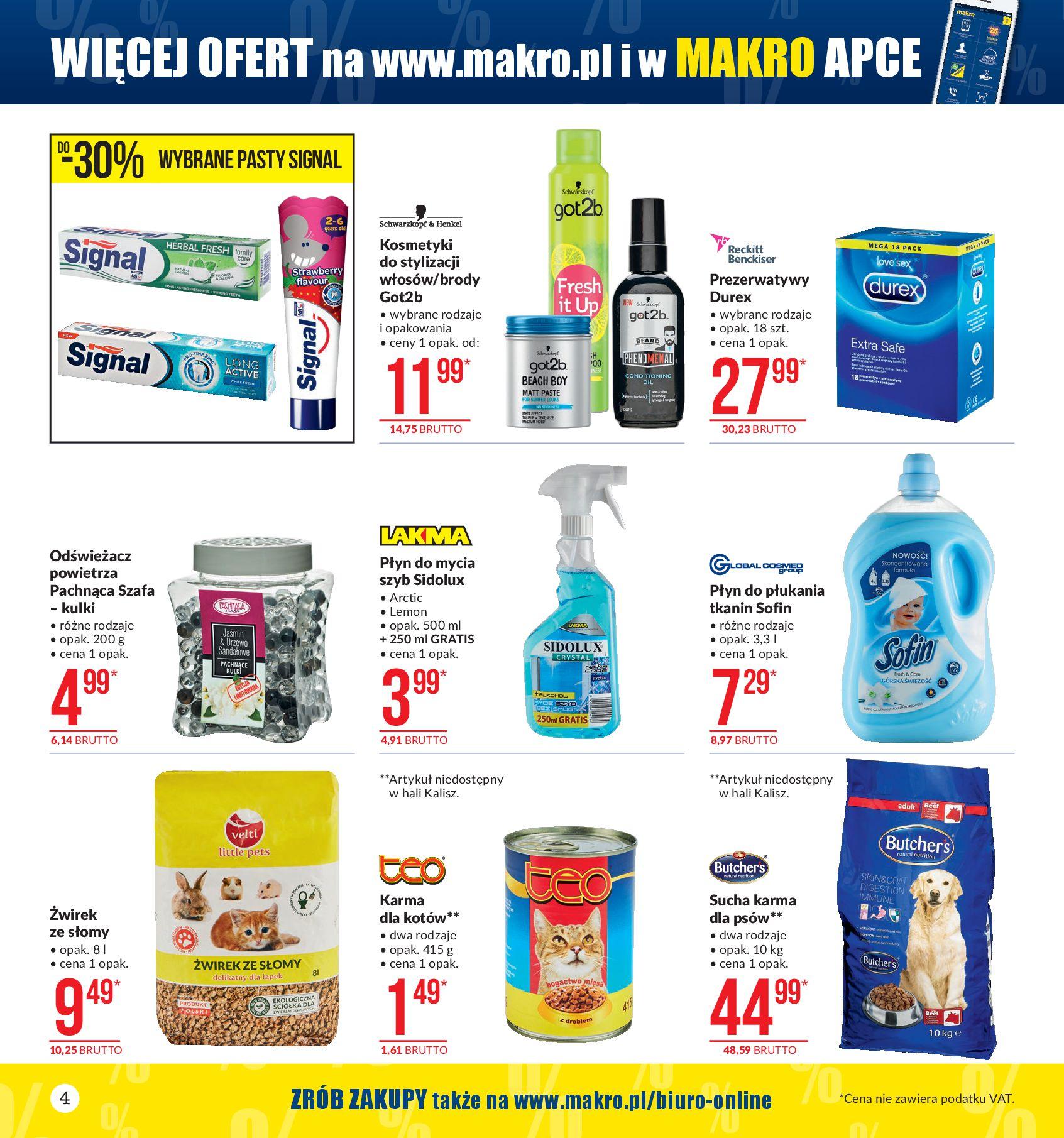 Gazetka Makro - Extra dodatek-07.10.2019-21.10.2019-page-4