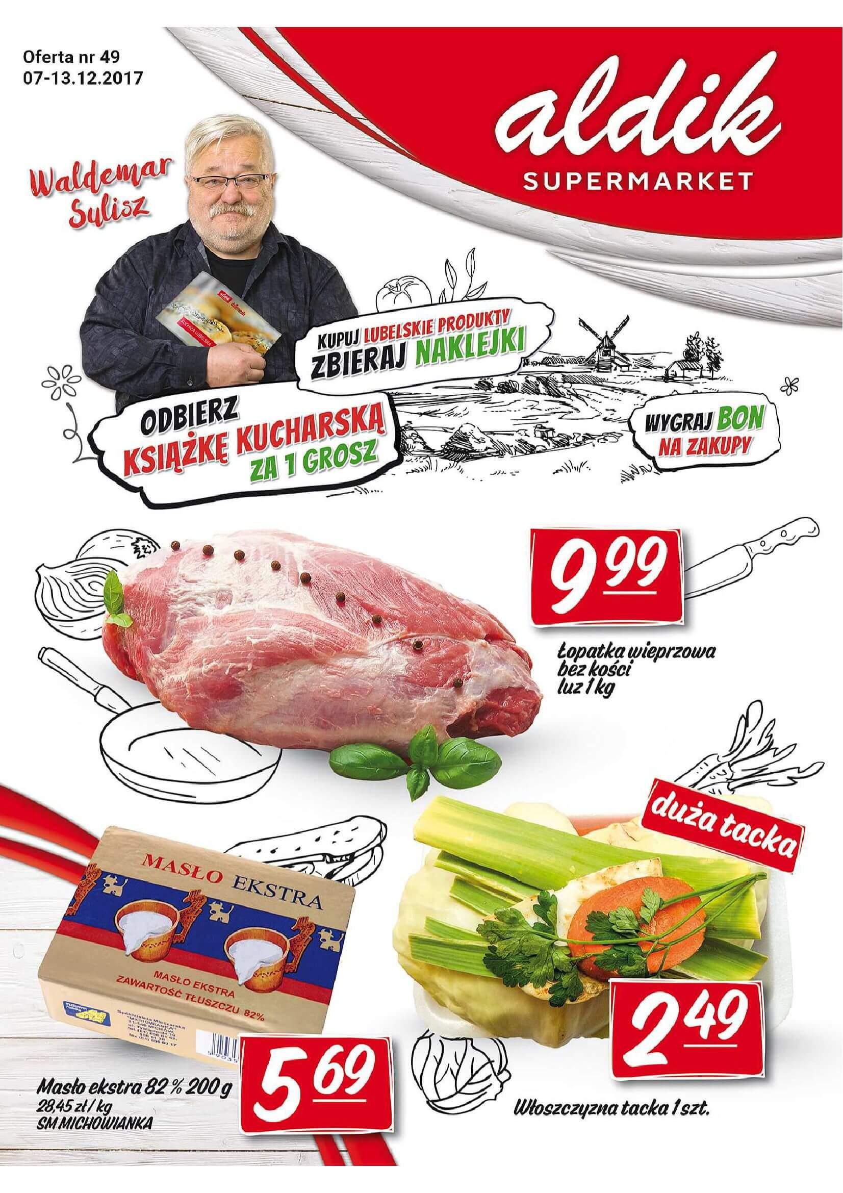 Gazetka Aldik - Oferta na artykuły spożywcze-2017-12-06-2017-12-13-page-1