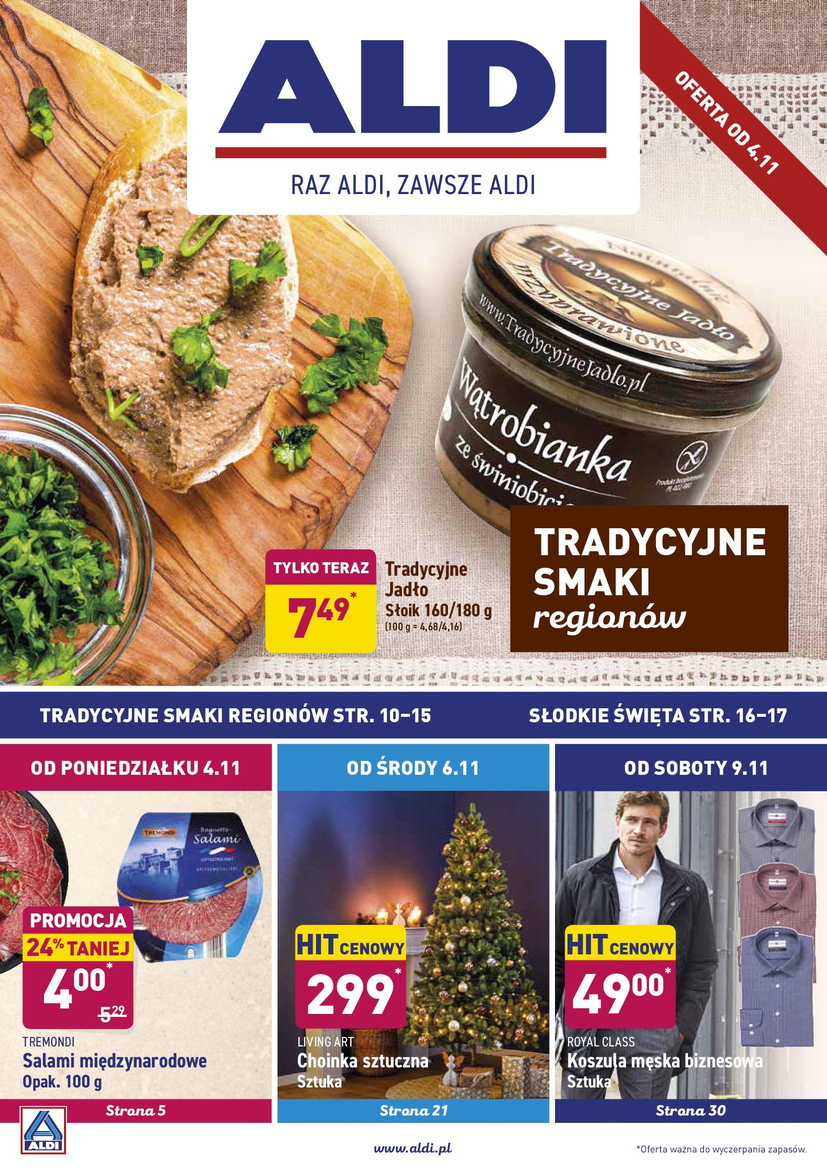 Gazetka Aldi - Okazje tygodnia od 4.11-03.11.2019-09.11.2019-page-1