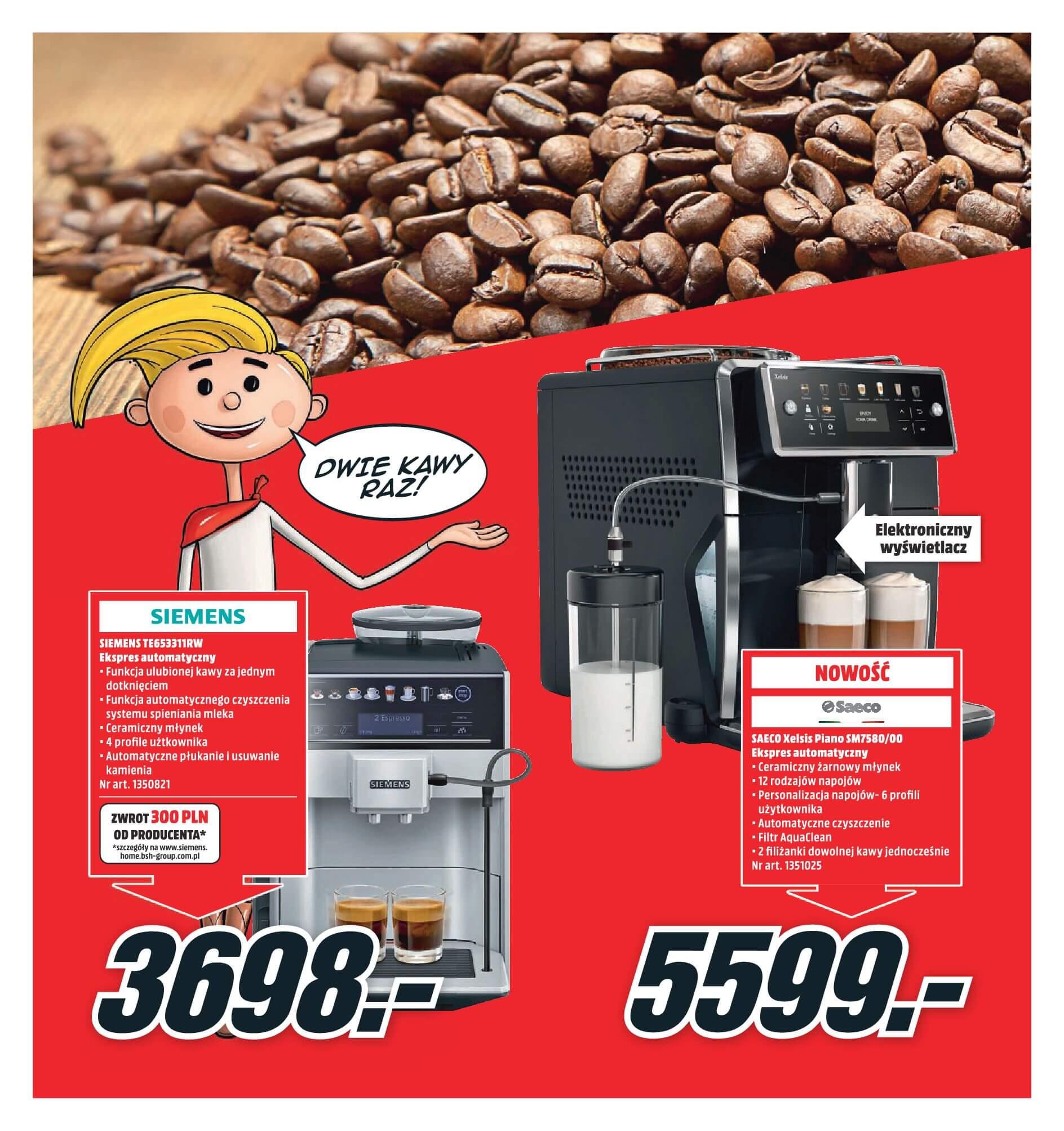 Gazetka Media Markt - Oferta na ekspresy do kawy, blendery, odkurzacze-2017-11-19-2017-12-10-page-6