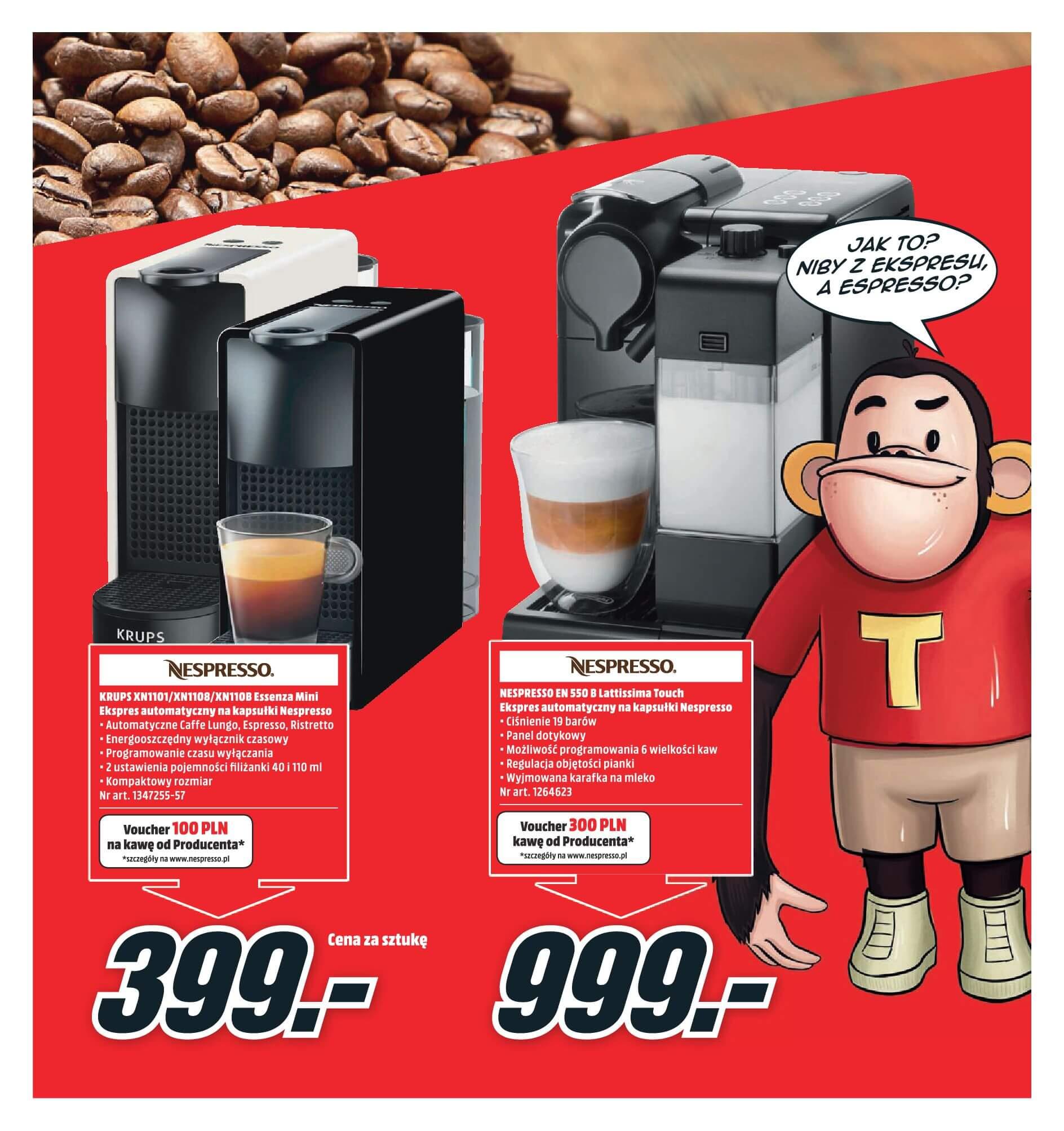 Gazetka Media Markt - Oferta na ekspresy do kawy, blendery, odkurzacze-2017-11-19-2017-12-10-page-7