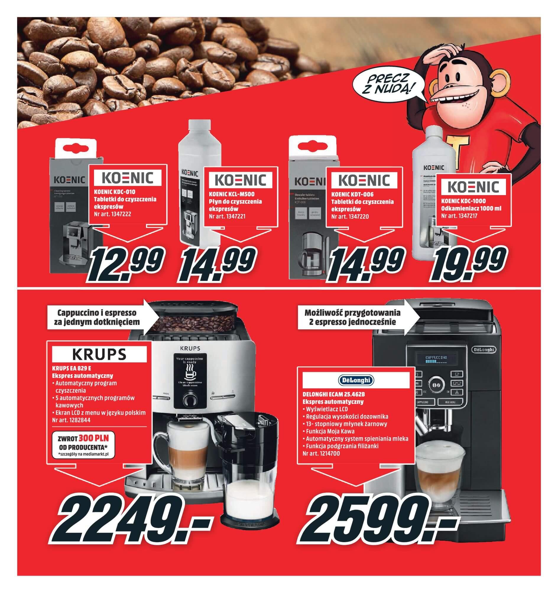 Gazetka Media Markt - Oferta na ekspresy do kawy, blendery, odkurzacze-2017-11-19-2017-12-10-page-3